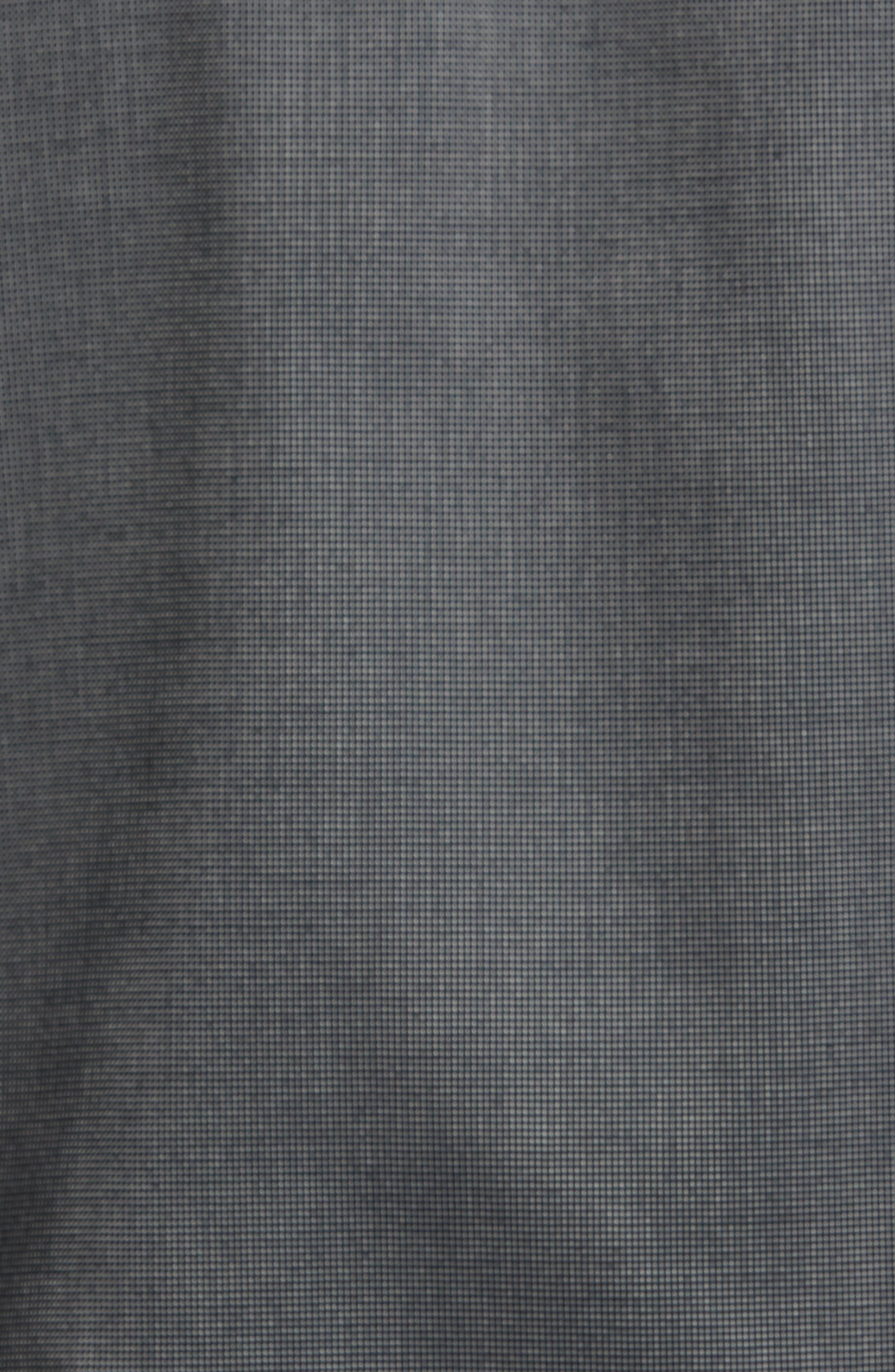 Tailored Fit Sport Shirt,                             Alternate thumbnail 5, color,                             BLACK