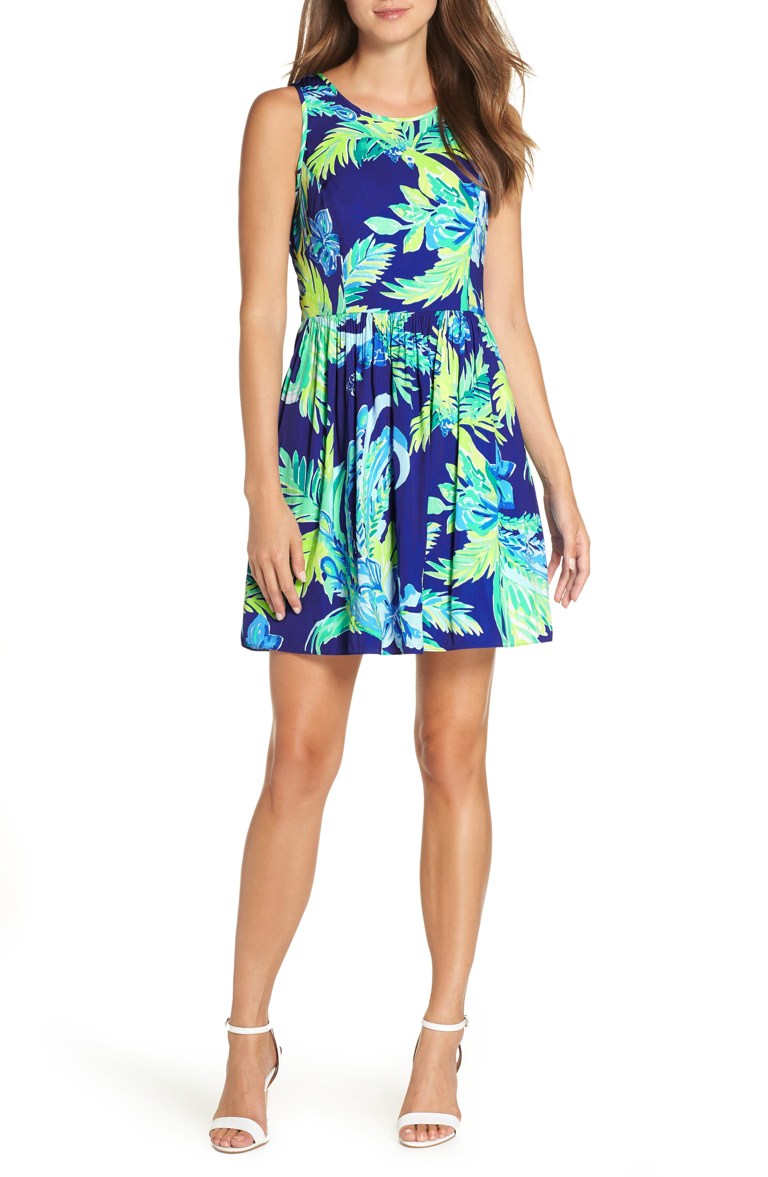 Lilly Pulitzer Kassia Fit & Flare Dress