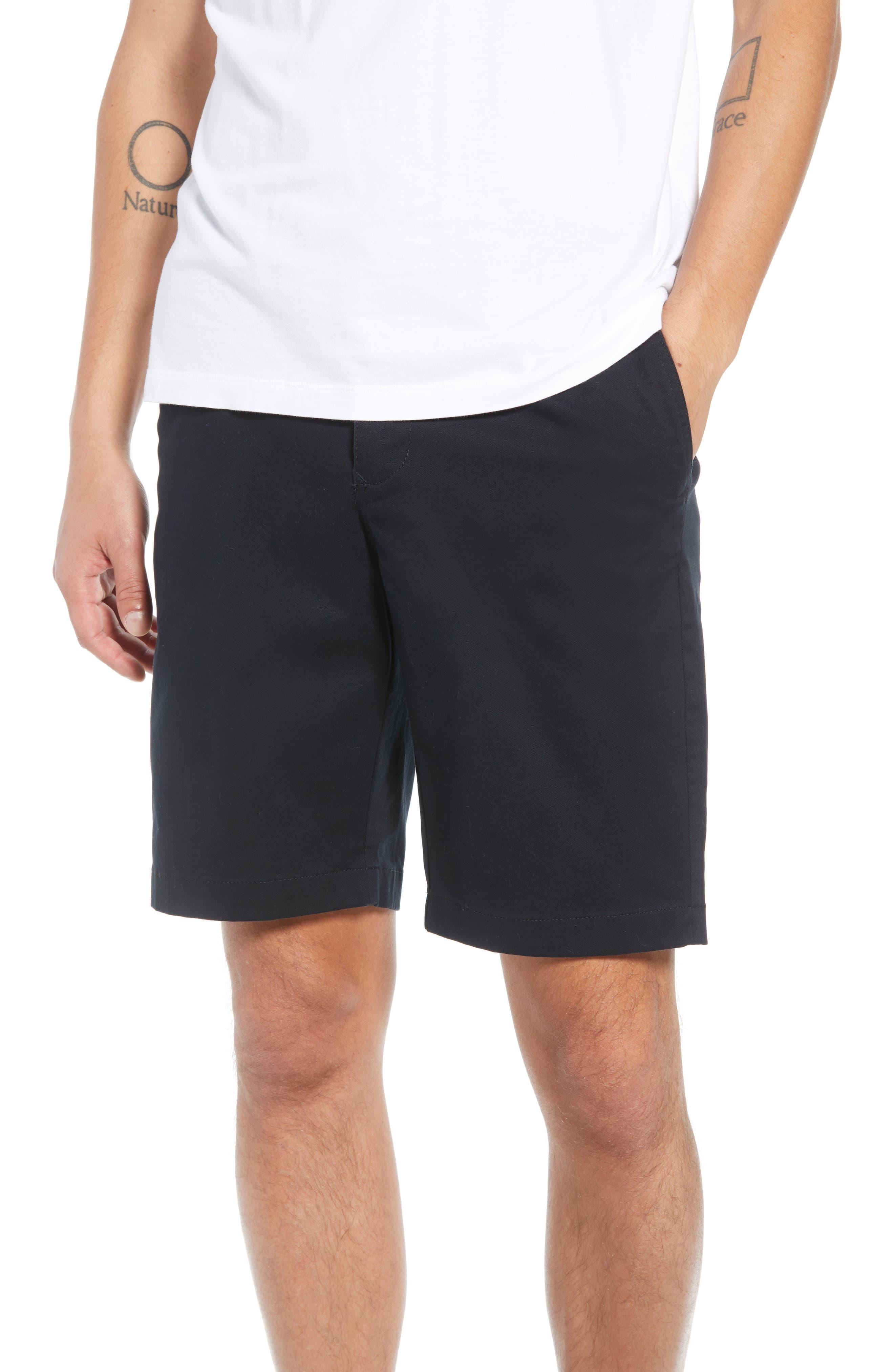 Flat Front Shorts,                             Main thumbnail 1, color,                             001