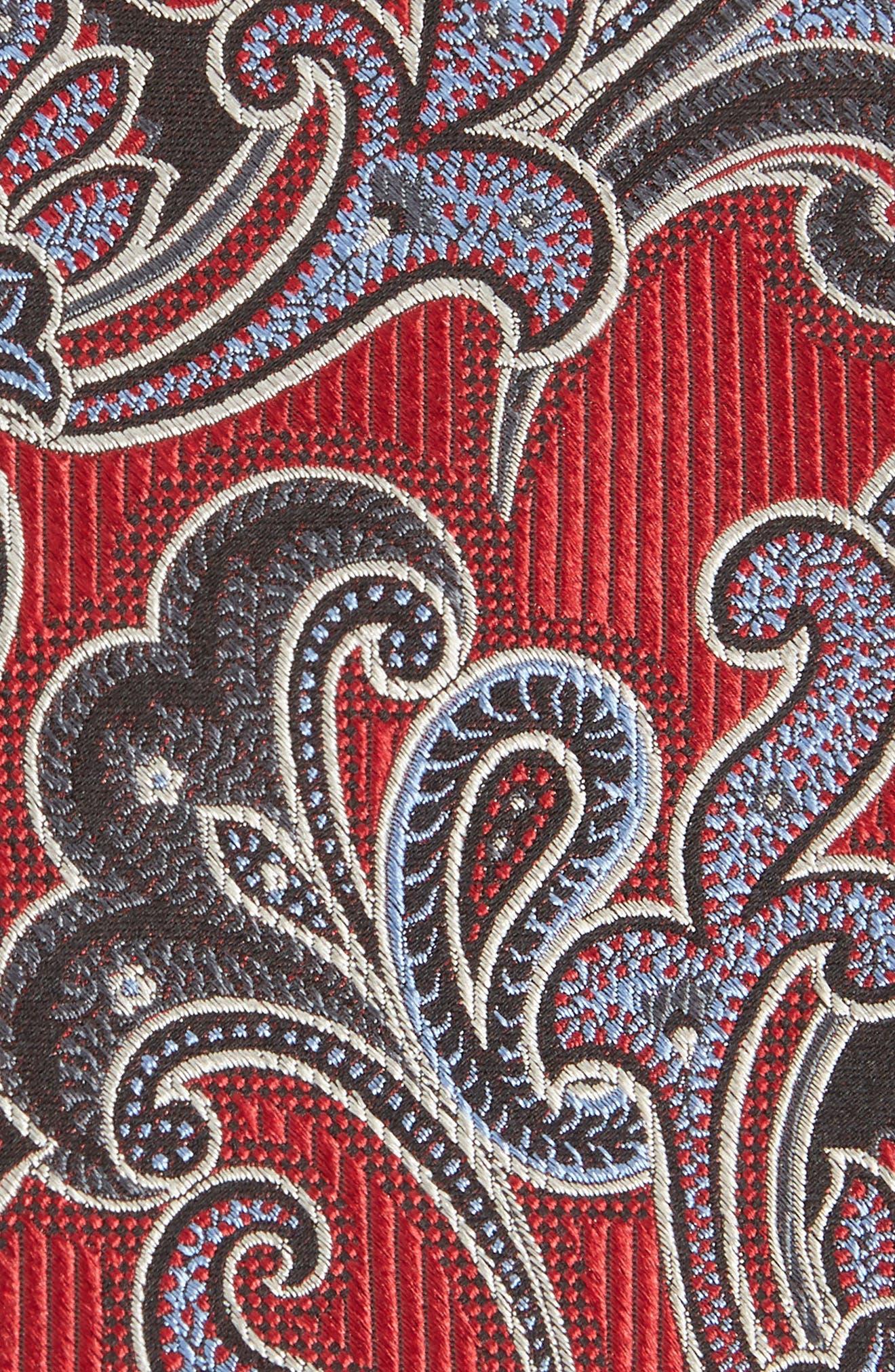 Paisley Silk Tie,                             Alternate thumbnail 2, color,                             600