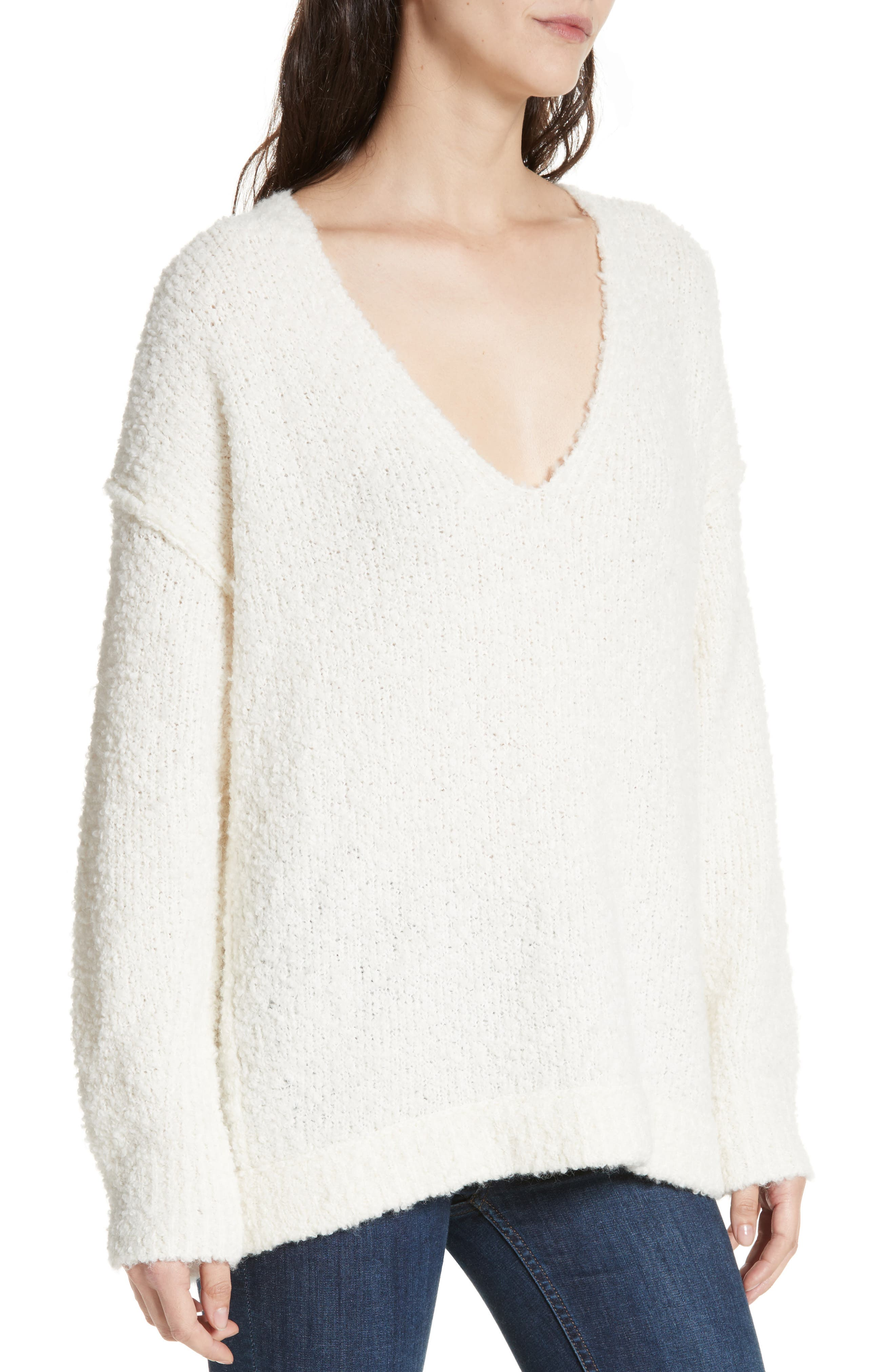 Lofty V-Neck Sweater,                             Alternate thumbnail 27, color,