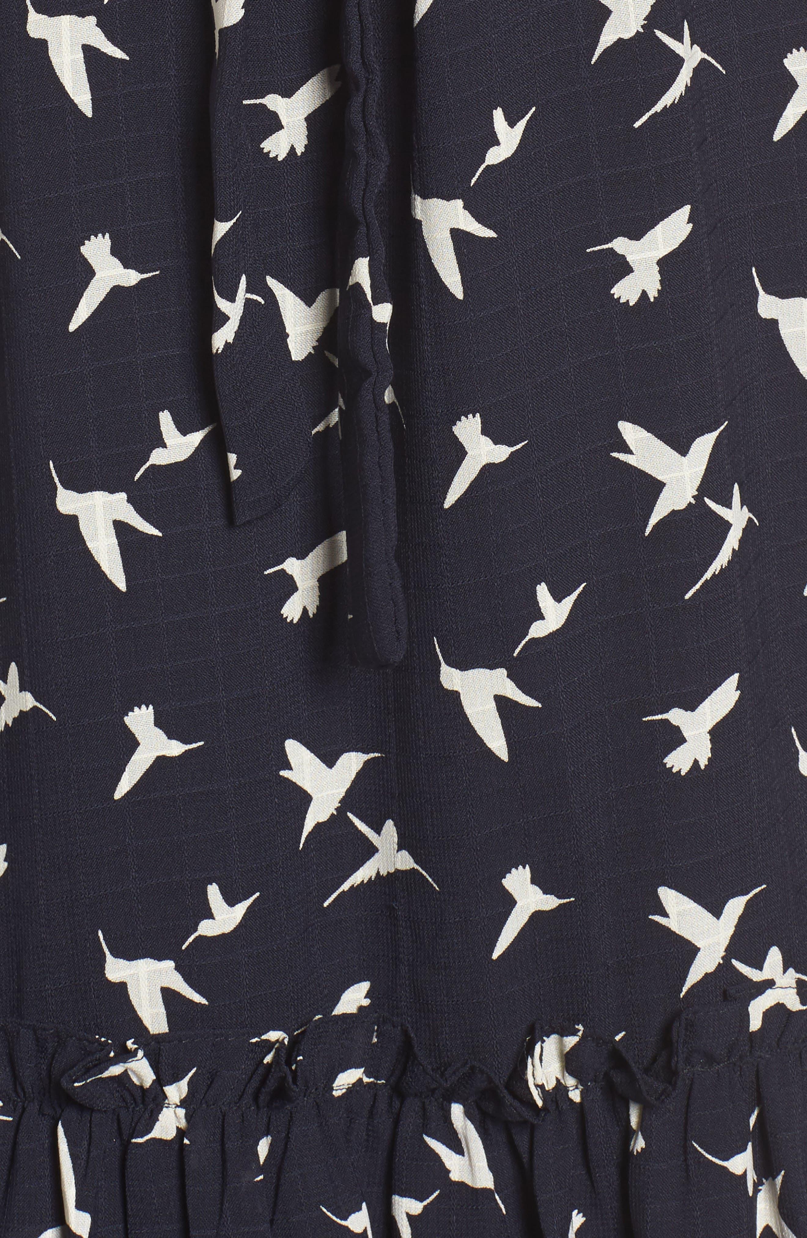 Martina Midi Dress,                             Alternate thumbnail 5, color,                             410