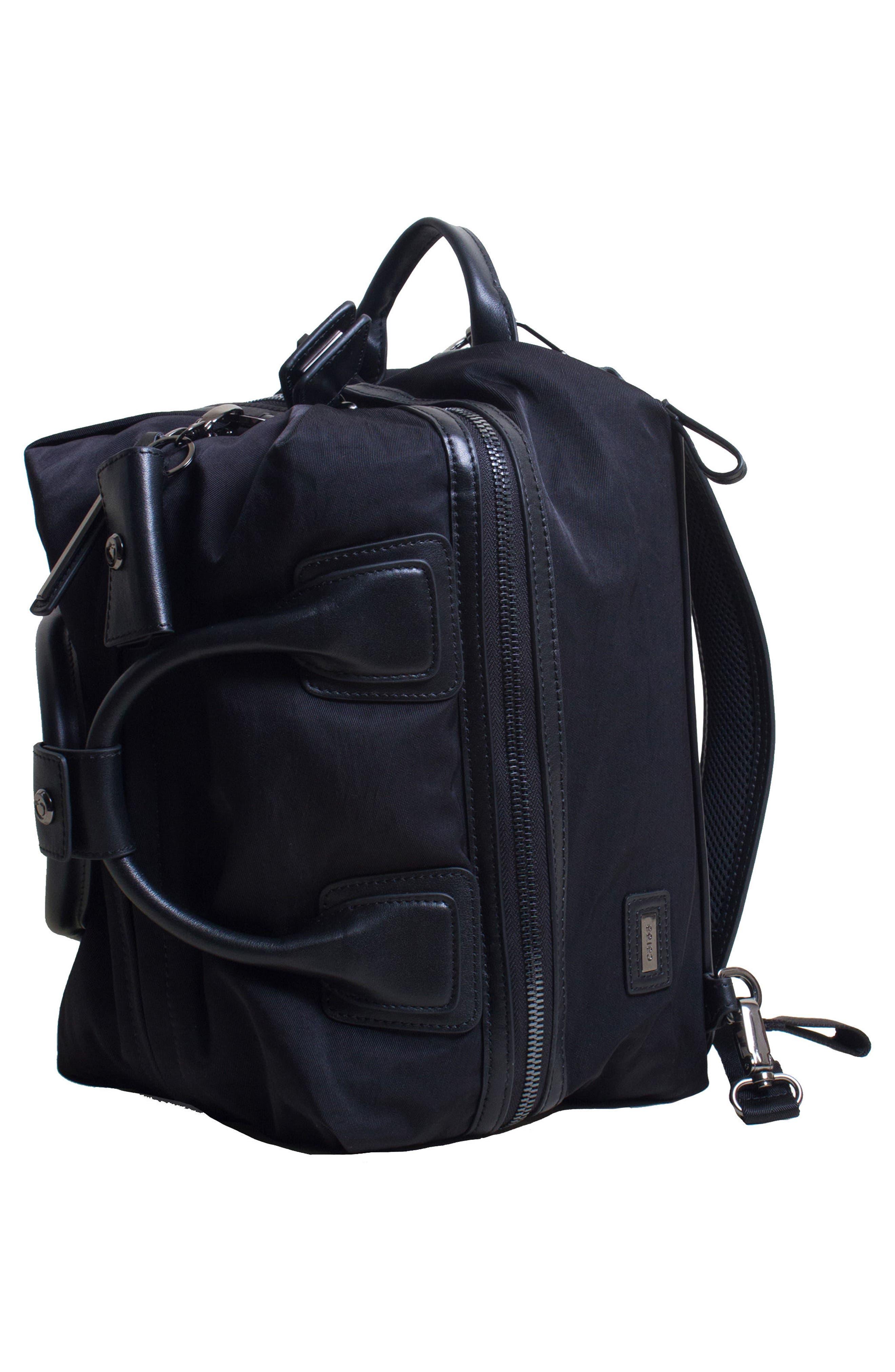 Studio Medium Duffel Backpack,                             Alternate thumbnail 5, color,                             BLACK