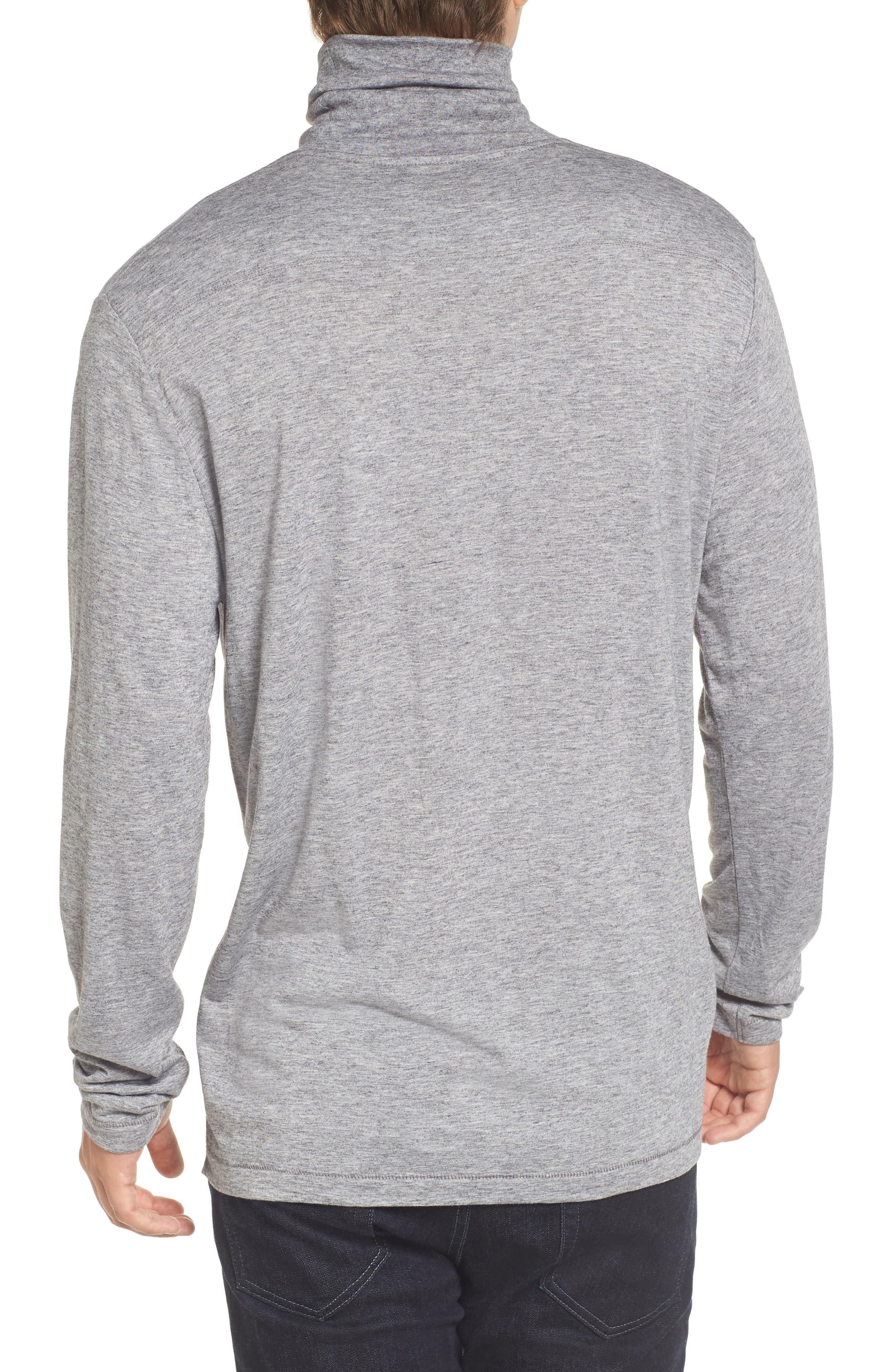 Lightweight Turtleneck Sweater,                             Alternate thumbnail 2, color,