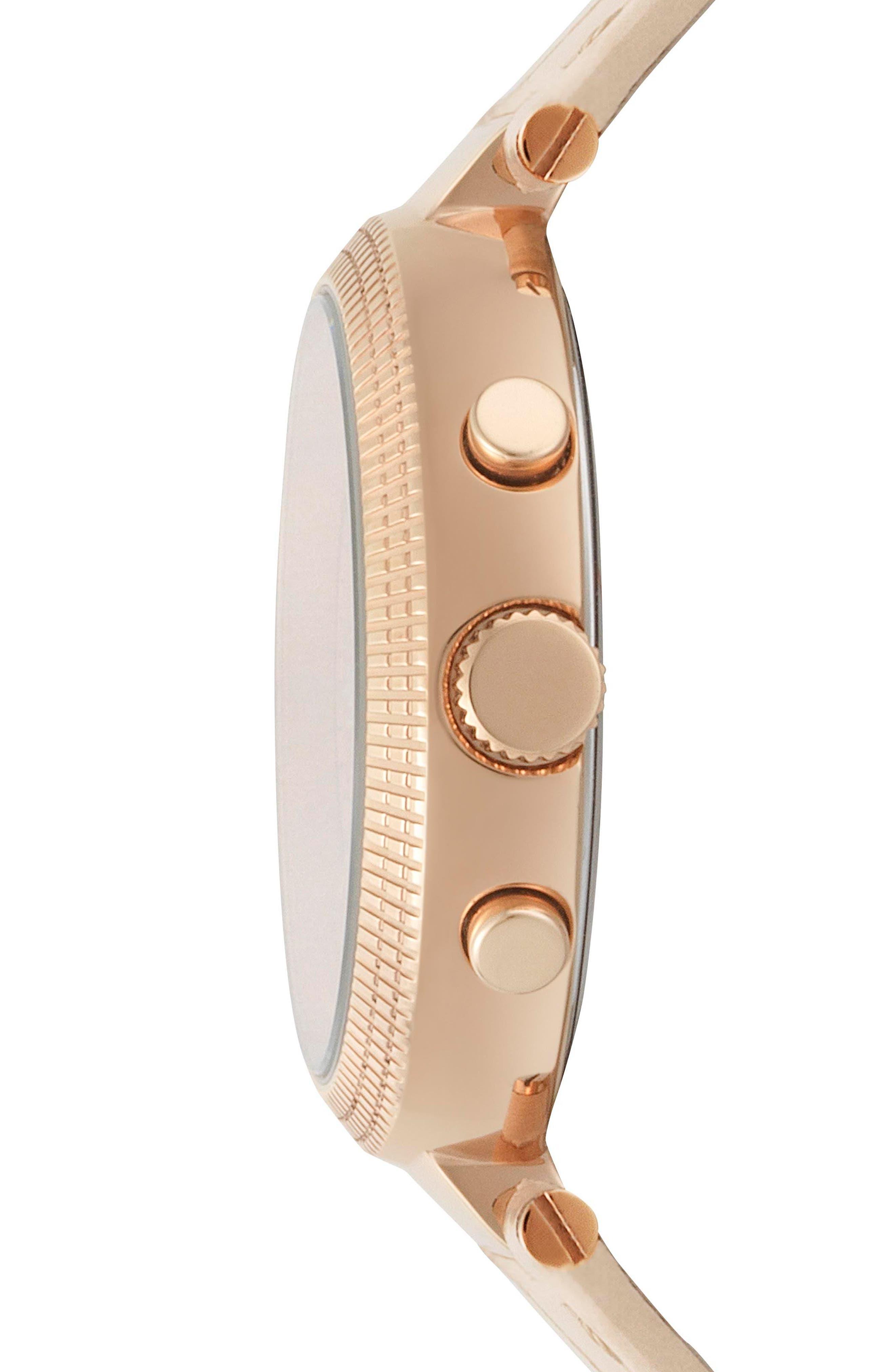 Versus by Versace Star Ferry Chronograph Bracelet Watch, 38mm,                             Alternate thumbnail 6, color,