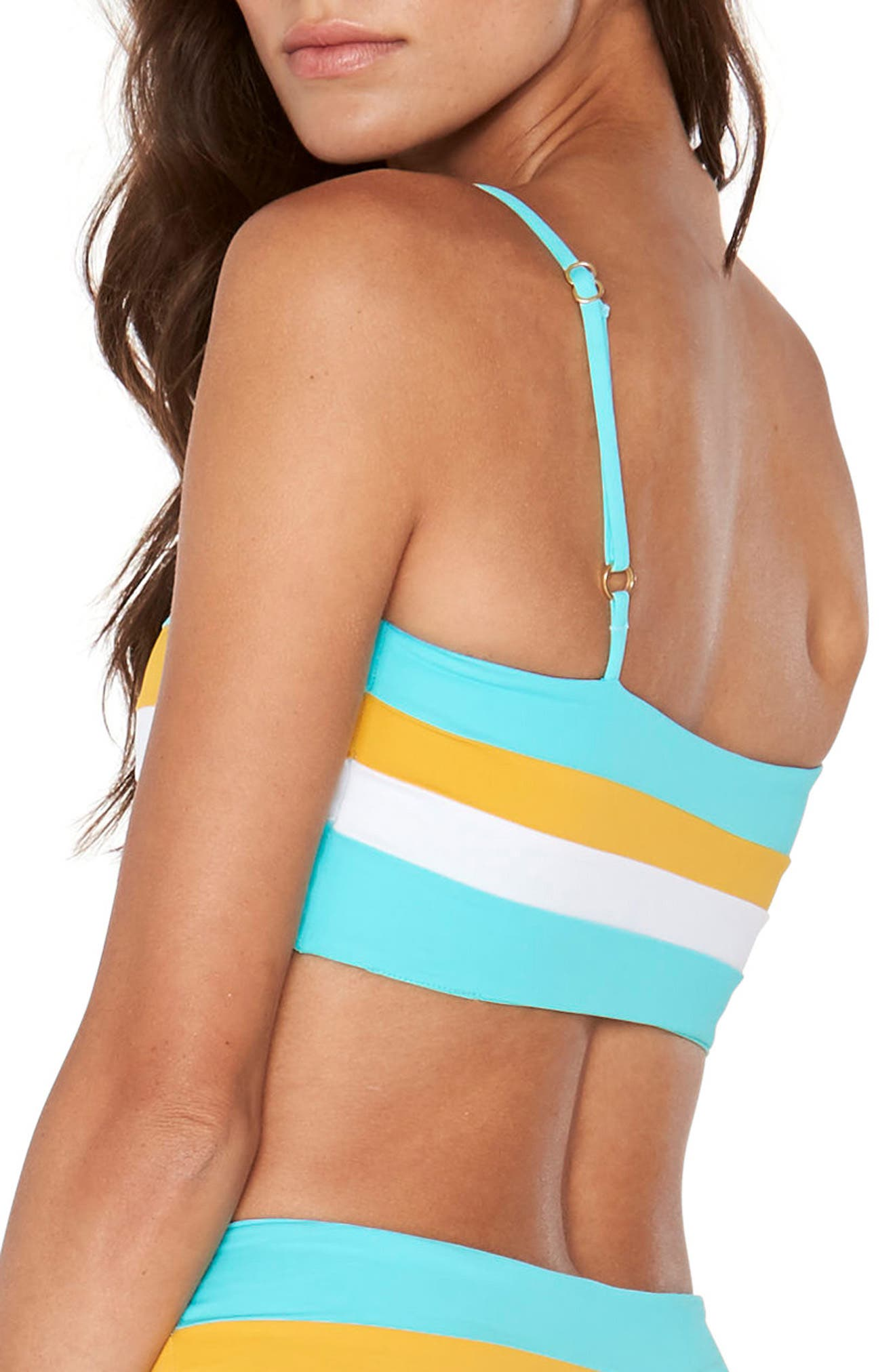 Rebel Bikini Top,                             Alternate thumbnail 6, color,