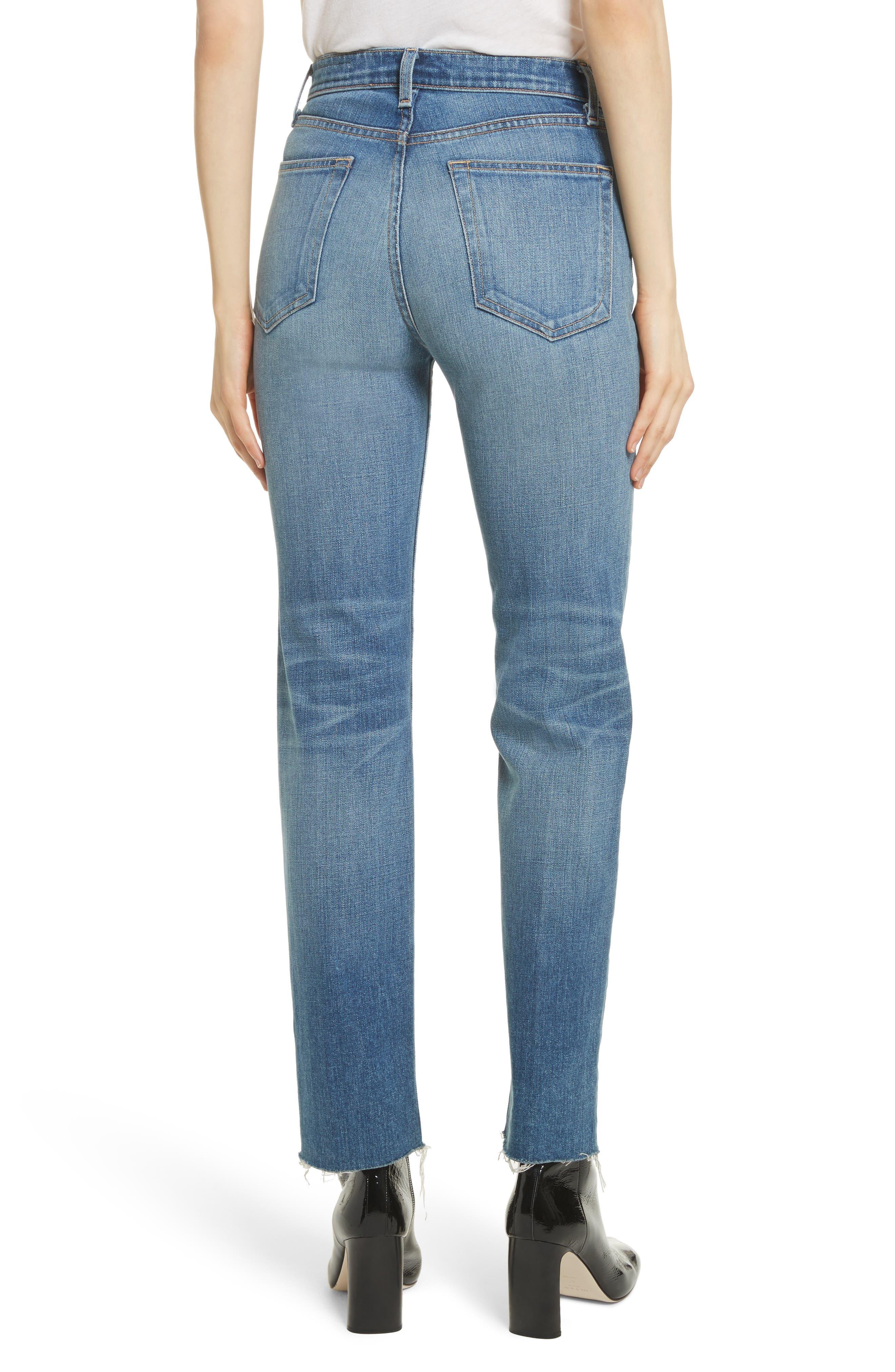 Straight Leg Jeans,                             Alternate thumbnail 2, color,                             420