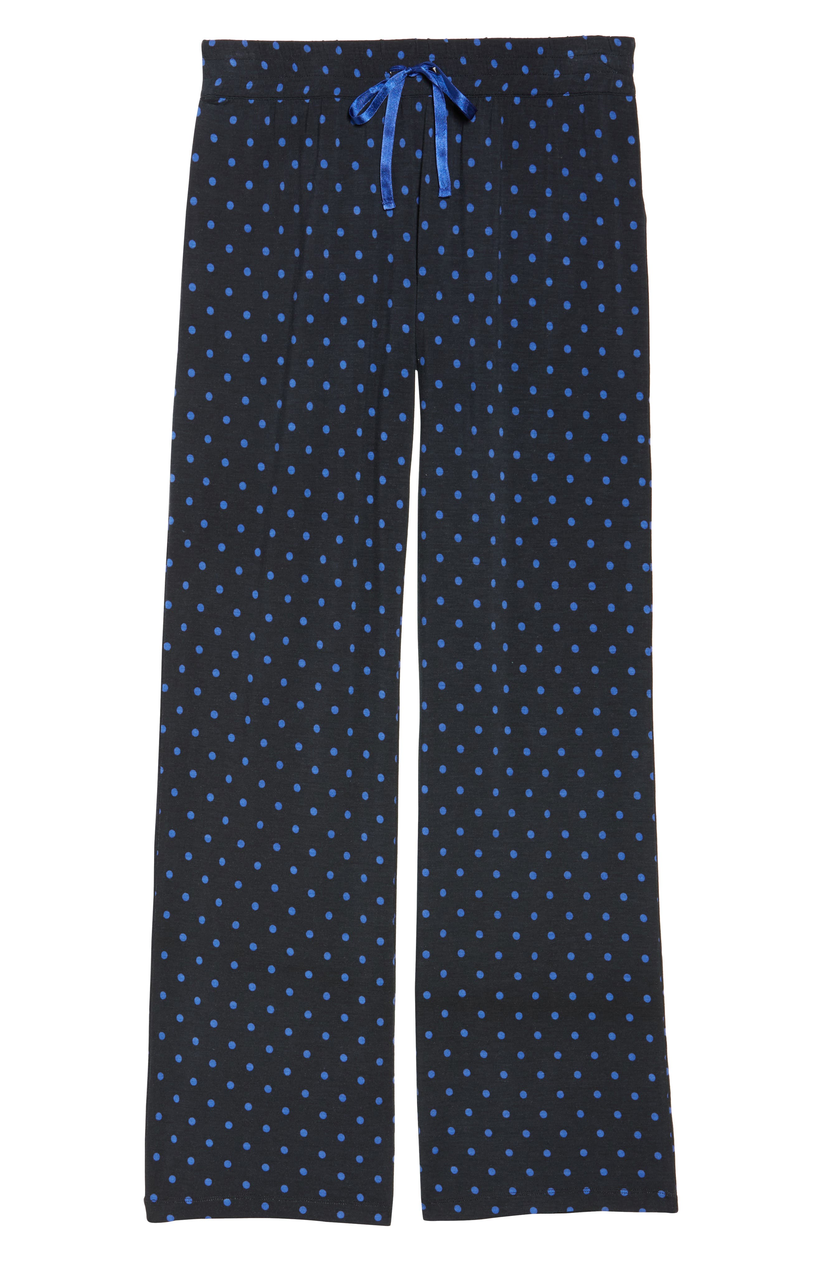 Dot Lounge Pants,                             Alternate thumbnail 6, color,                             400