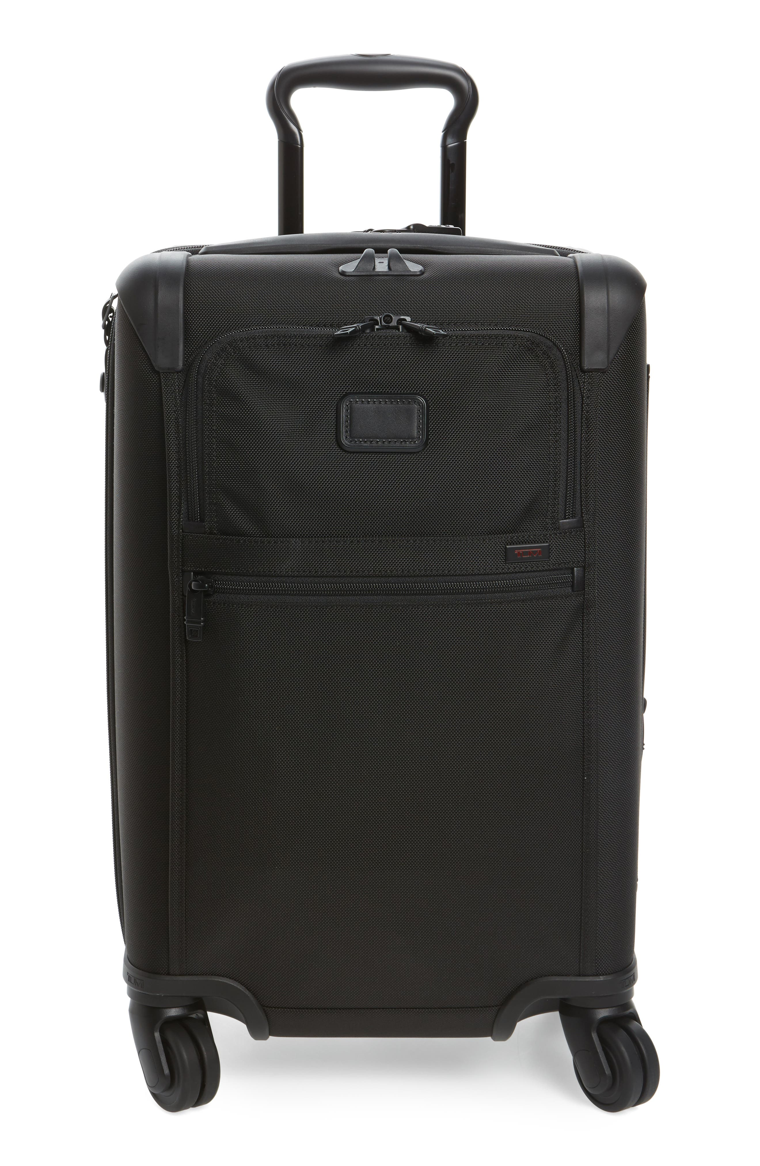 Alpha 2 International 22-Inch Carry-On,                             Alternate thumbnail 2, color,                             BLACK