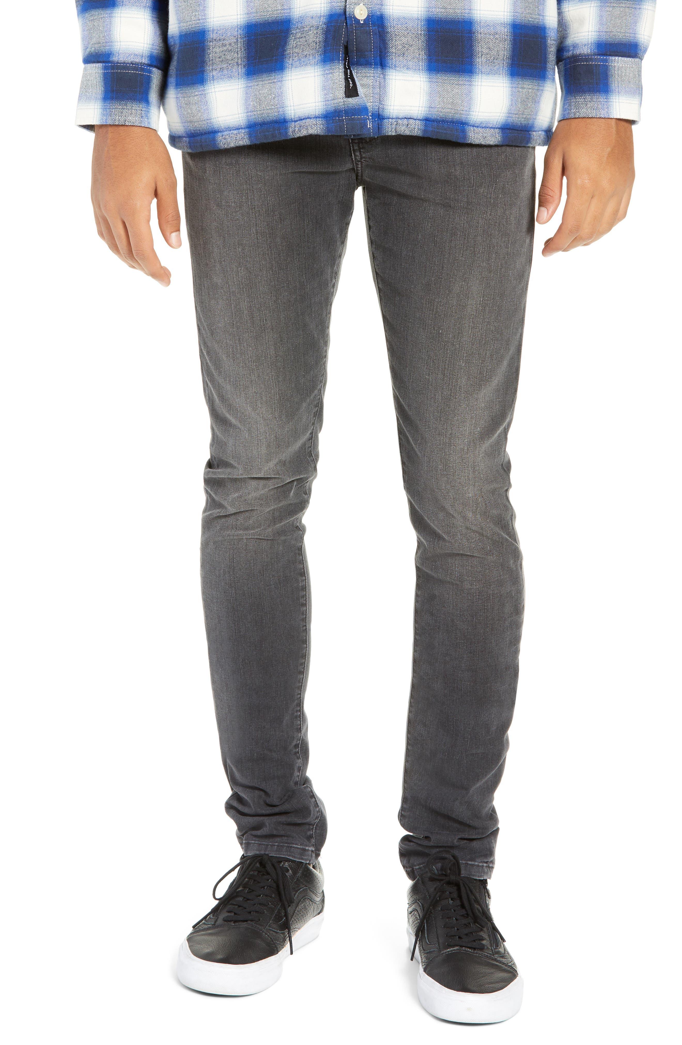 MONFRERE Greyson Skinny Fit Jeans in Berlin