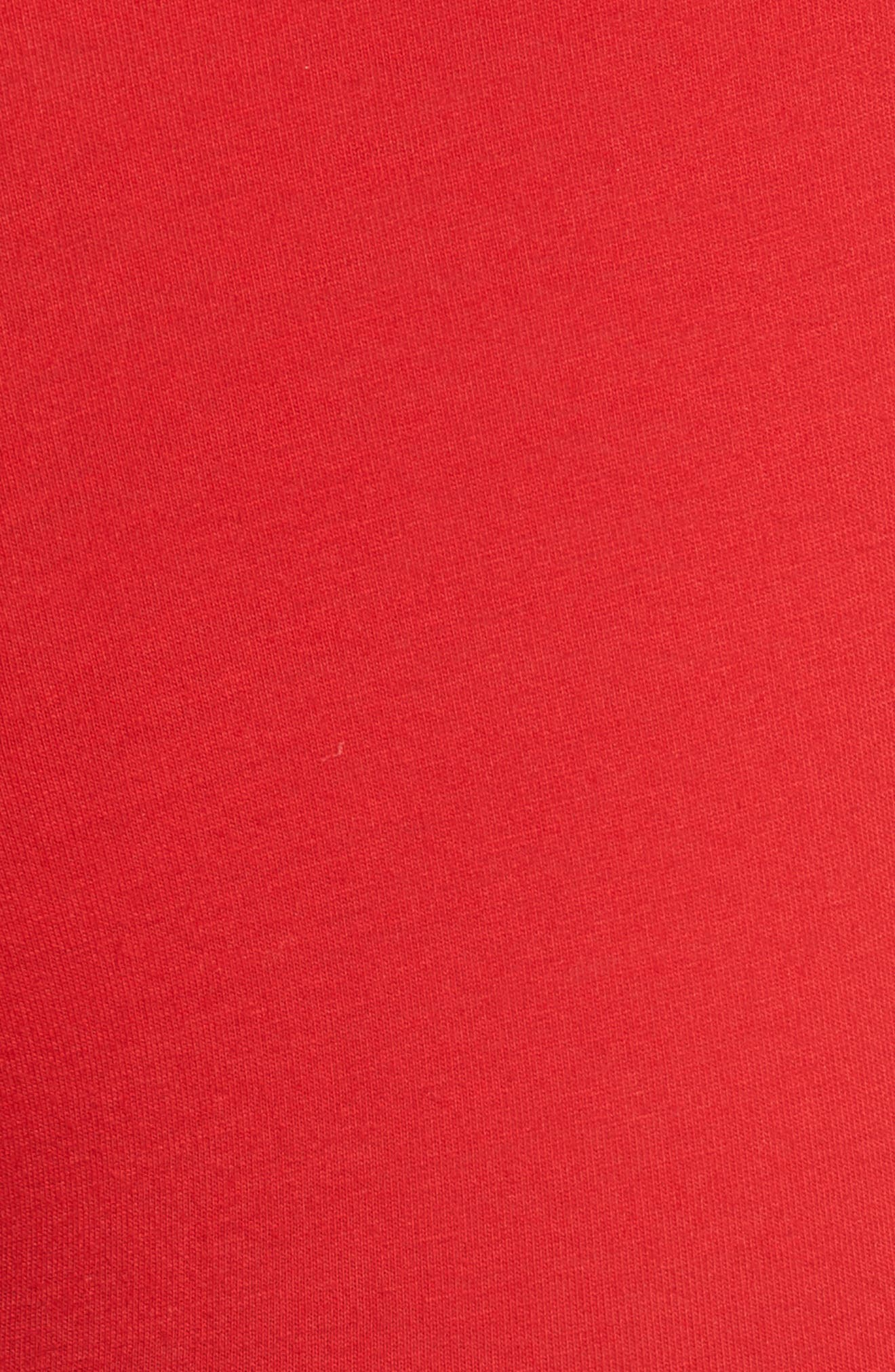 Cotton Stretch Boxer Briefs,                             Alternate thumbnail 5, color,                             RL 2000 RED/ POLO BLACK