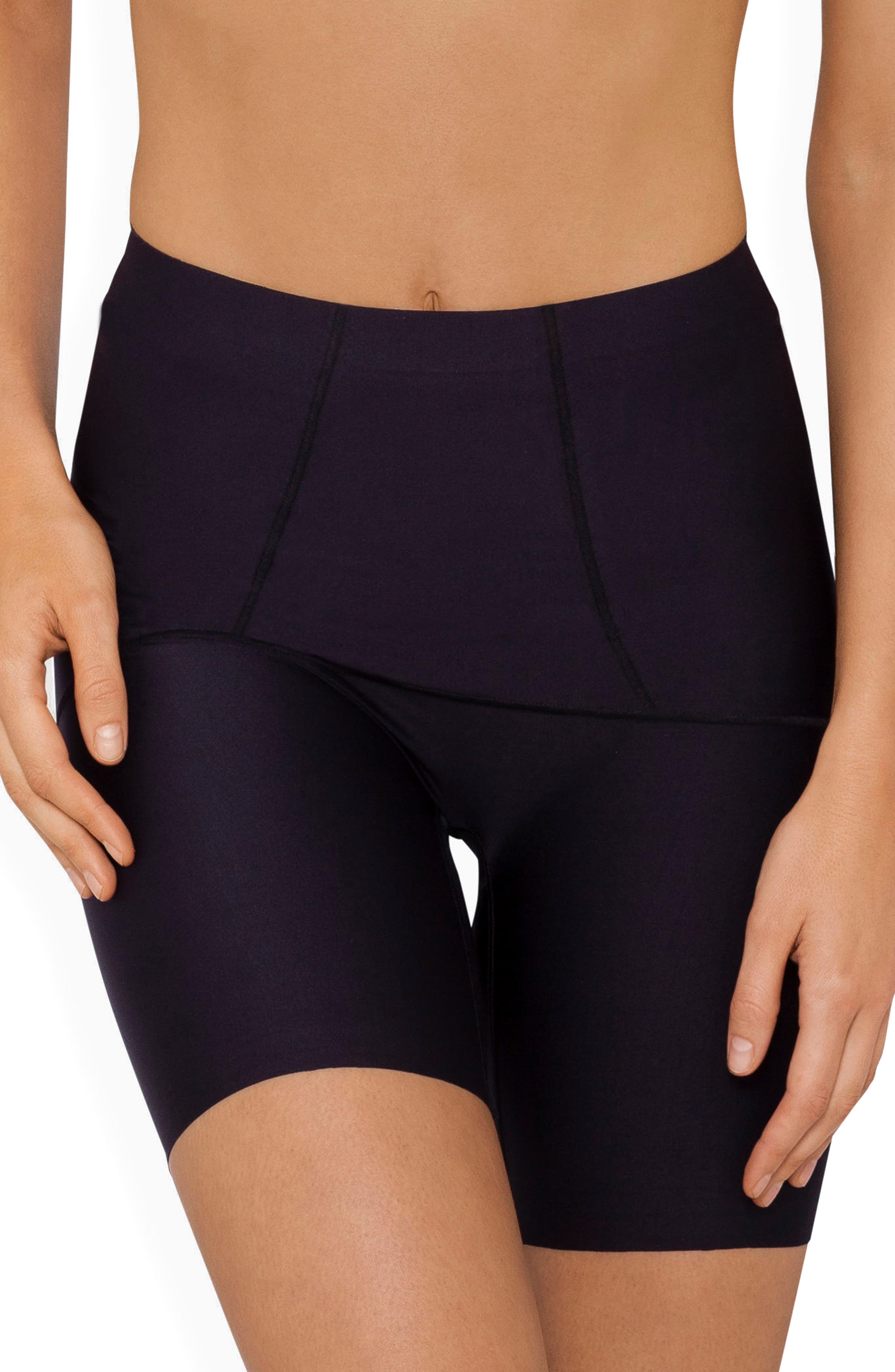 Body Architect High Waist Shaper Shorts,                         Main,                         color, BLACK