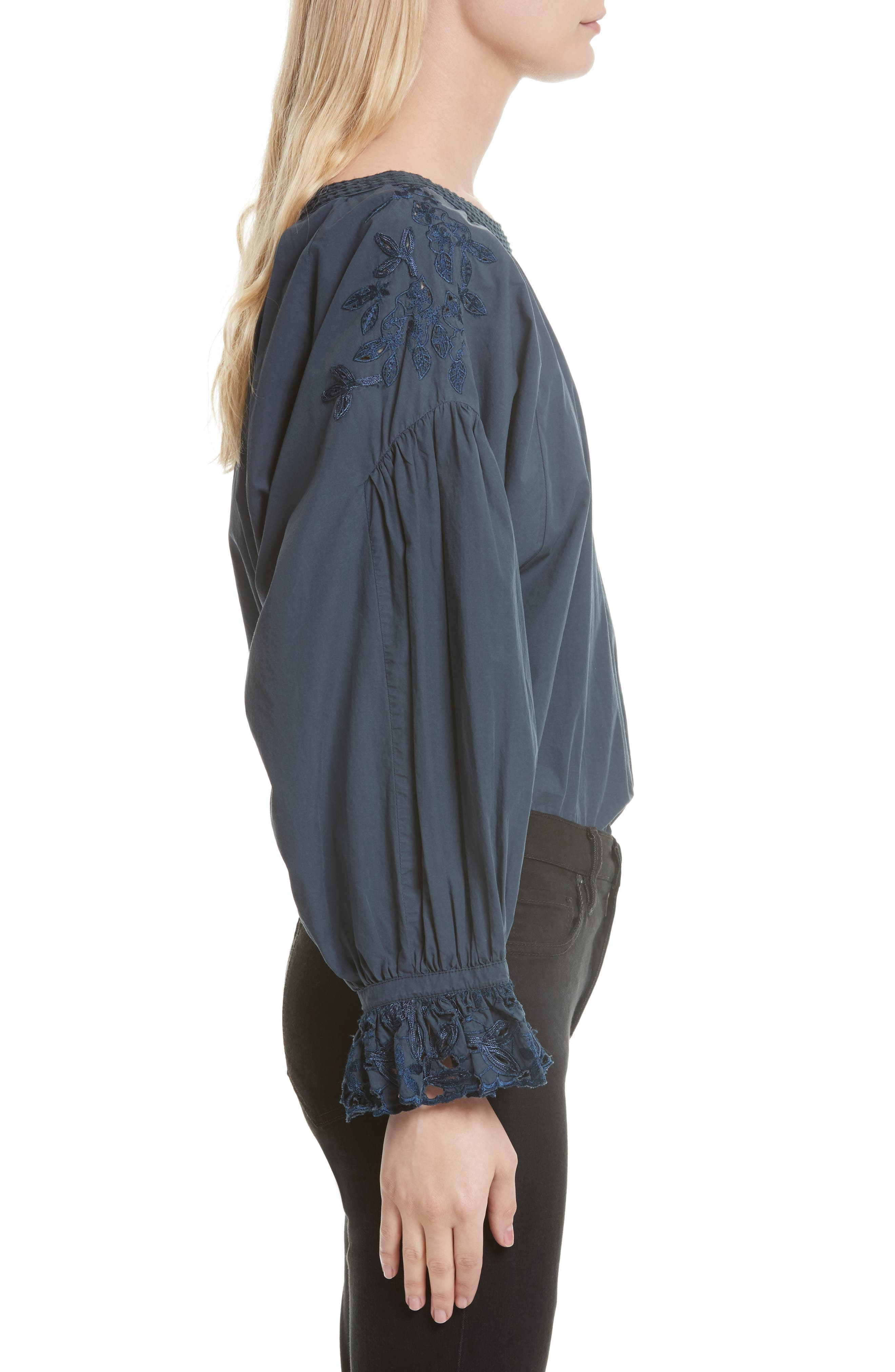 Wishing Well Blouse,                             Alternate thumbnail 3, color,                             020