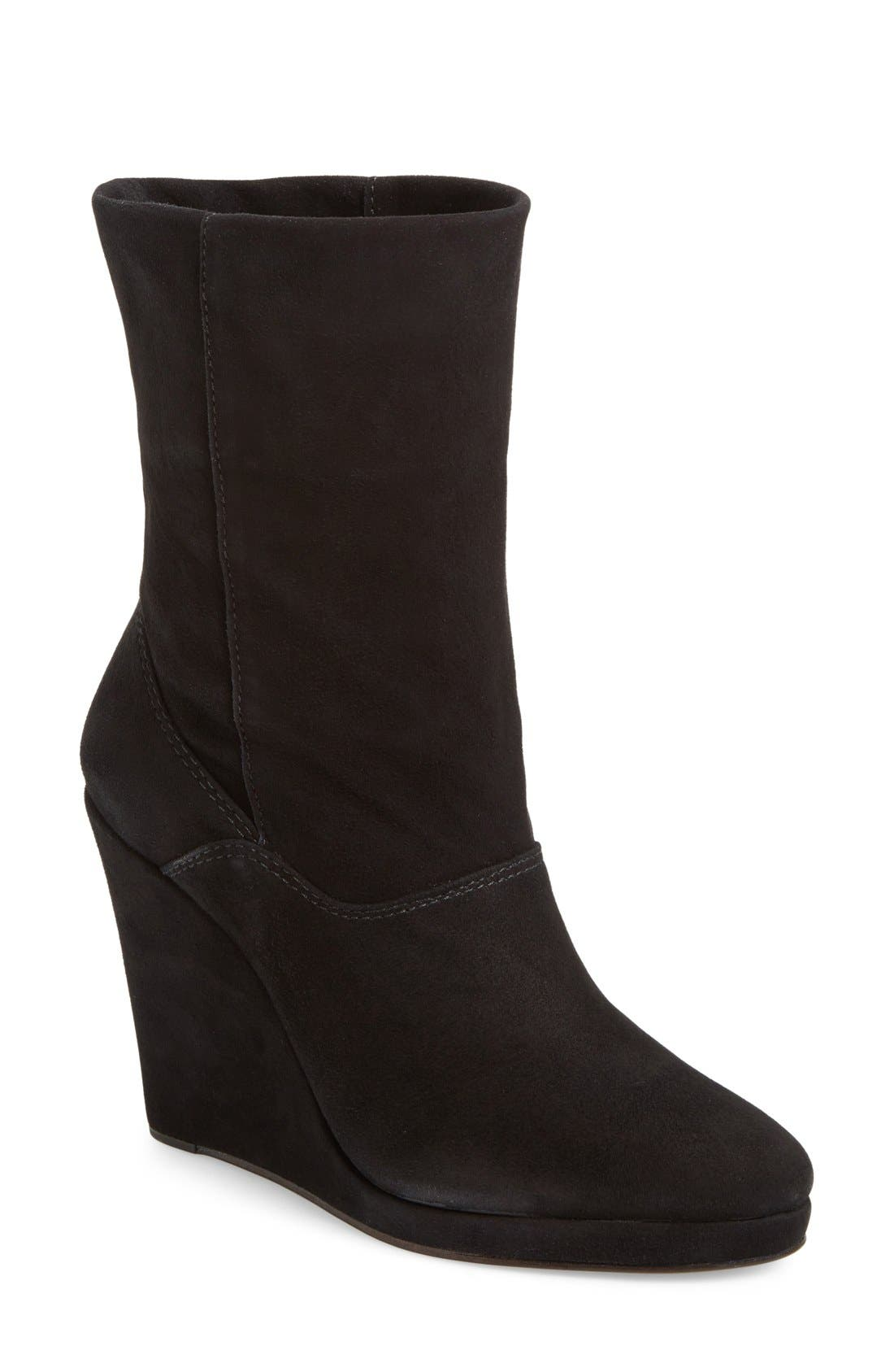 M4D3 Melanie Wedge Boot,                         Main,                         color, 001