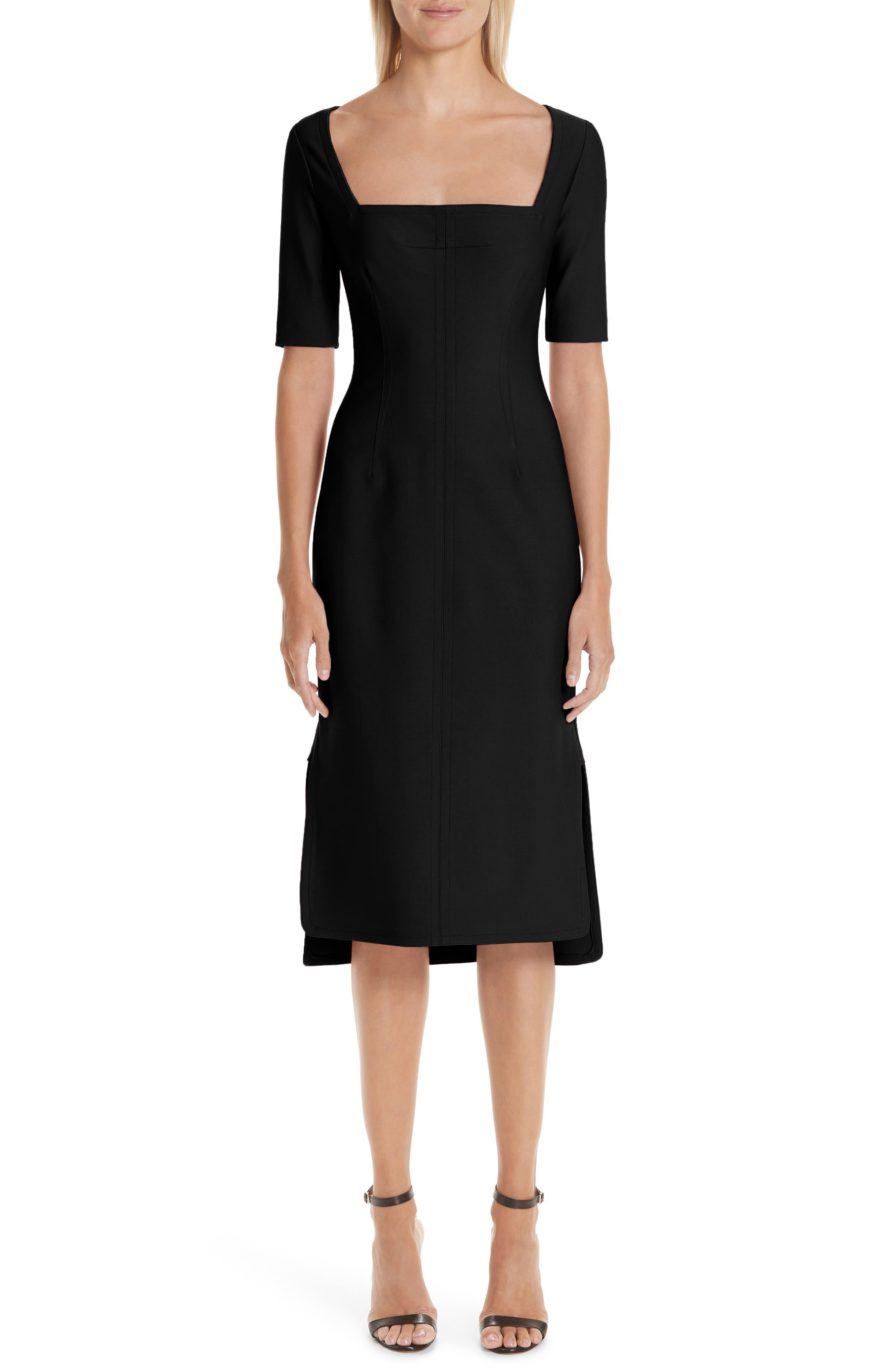 Yigal Azrouel Body-Con Dress, Black