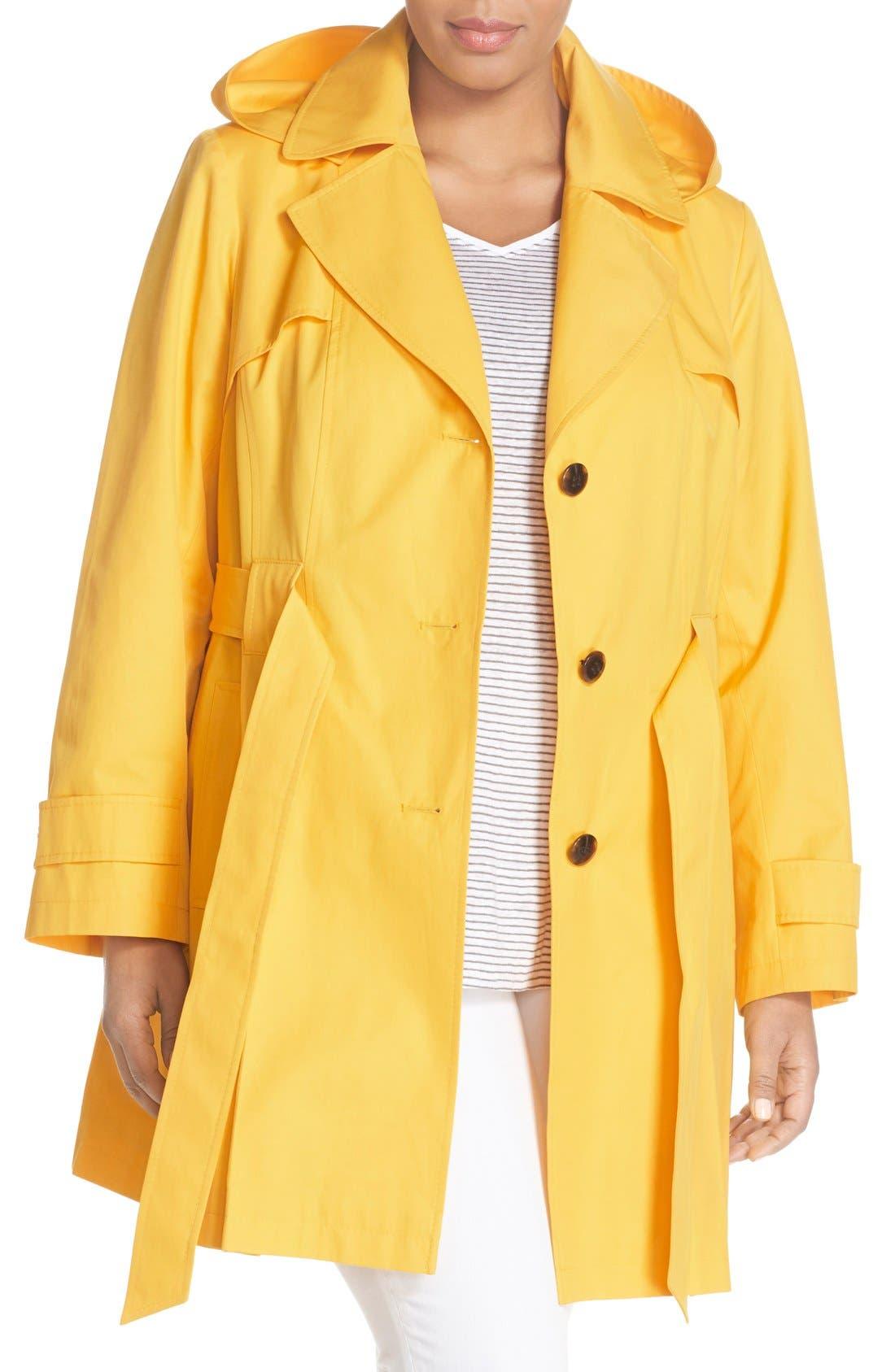 'Scarpa' Single Breasted Trench Coat,                             Main thumbnail 6, color,