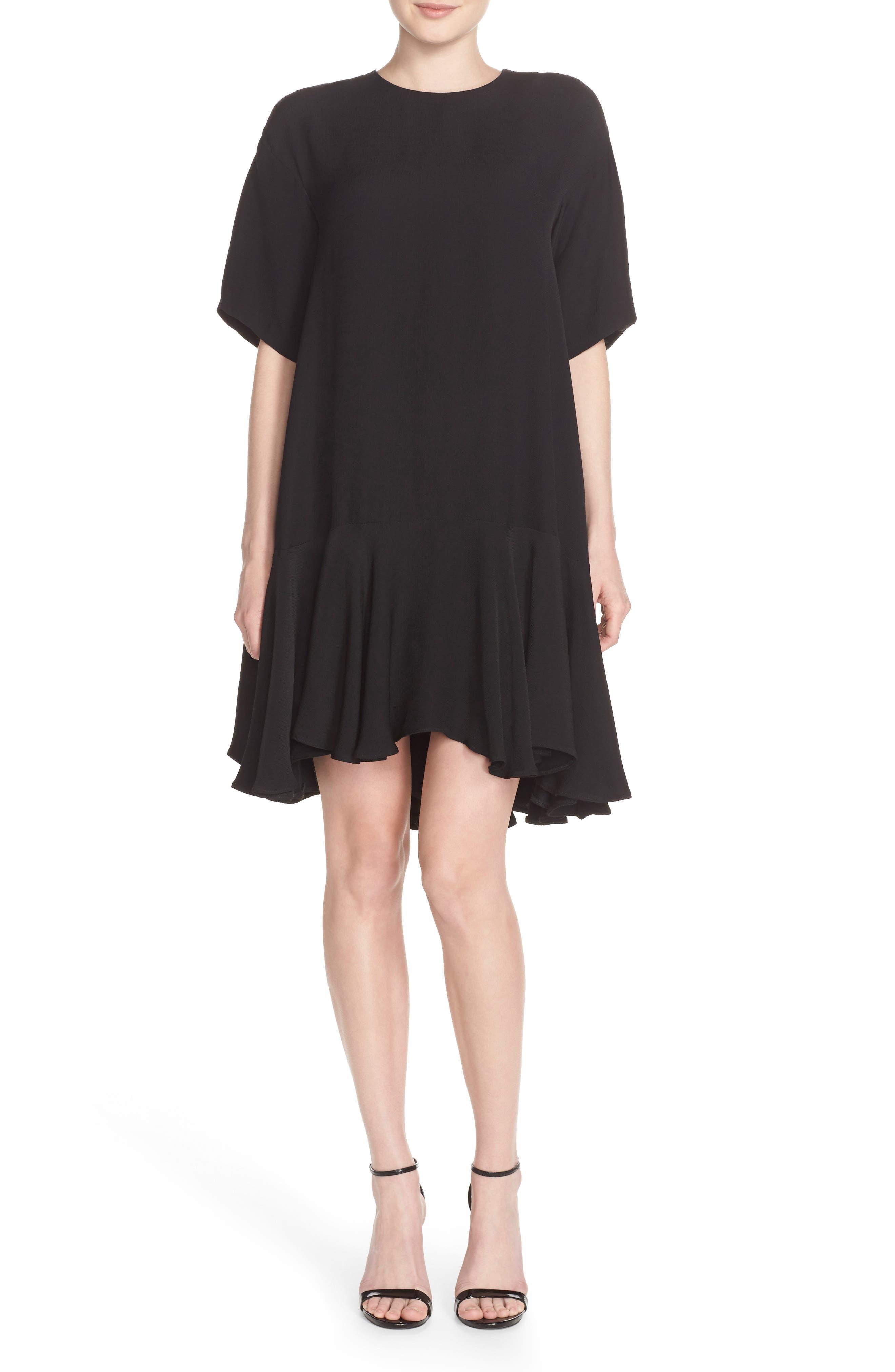 Drop Waist Knit Dress,                             Alternate thumbnail 8, color,
