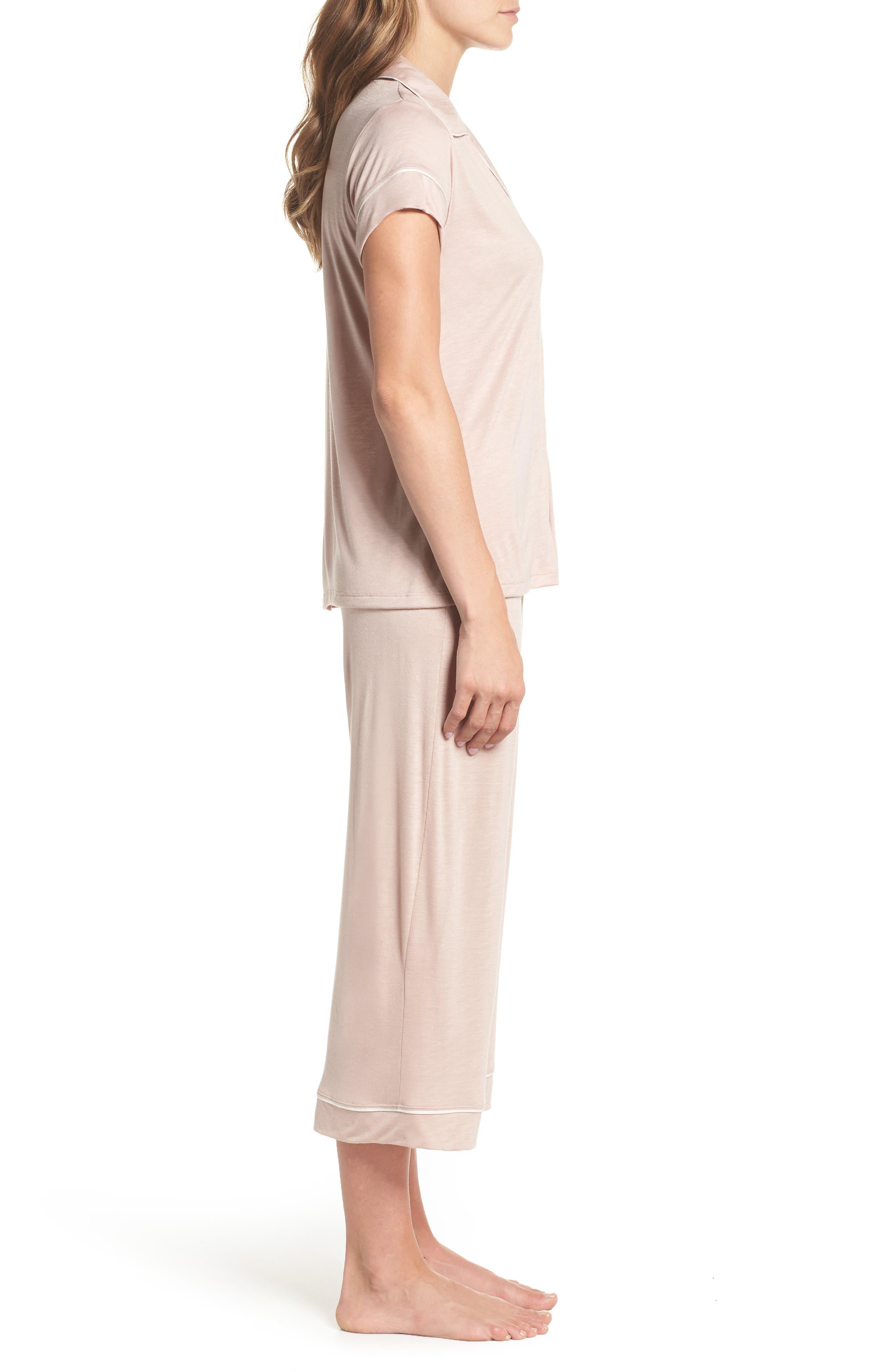 Gisele Crop Pajamas,                             Alternate thumbnail 12, color,