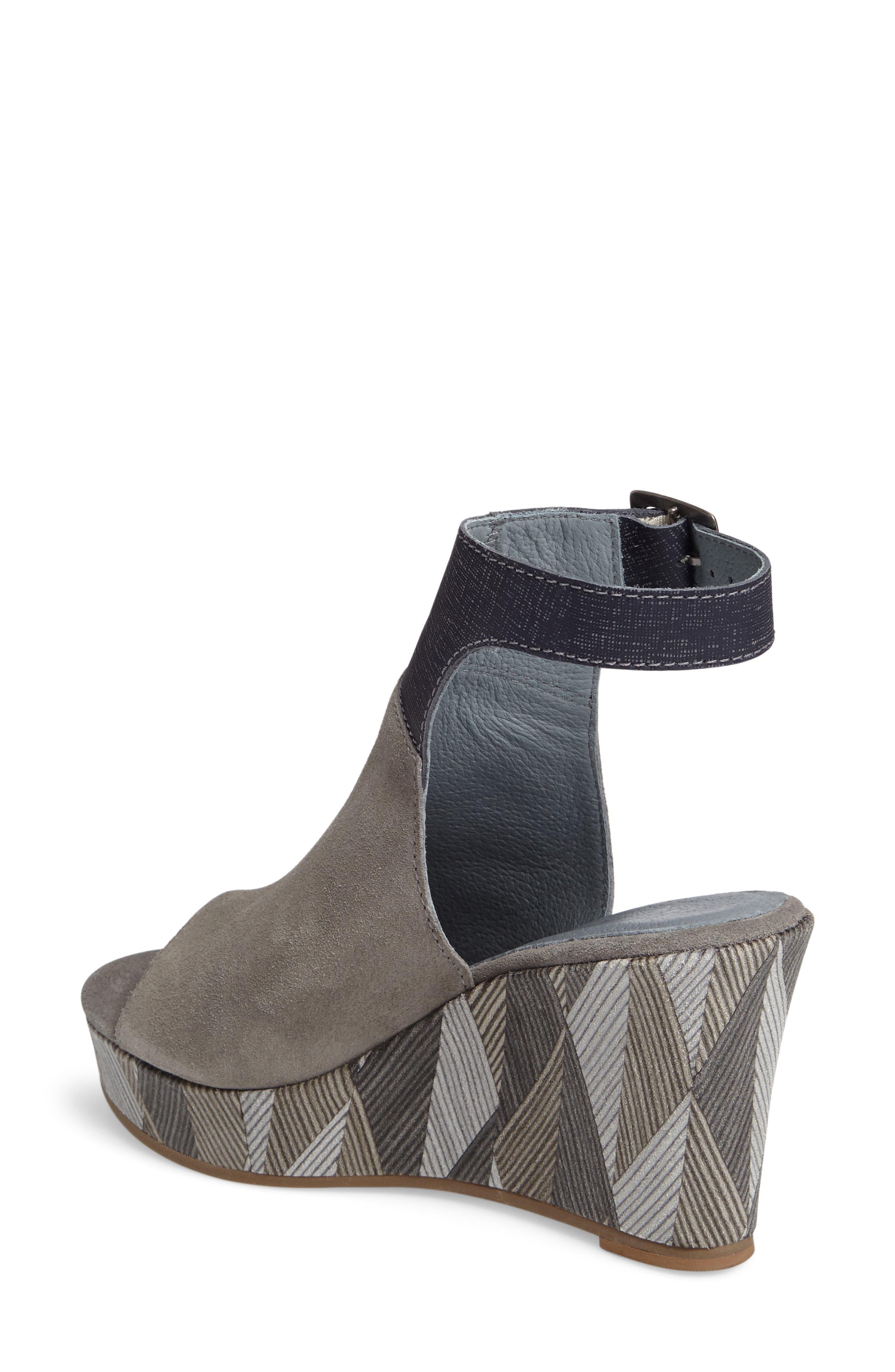 Harlequin Wedge Sandal,                             Alternate thumbnail 2, color,                             029