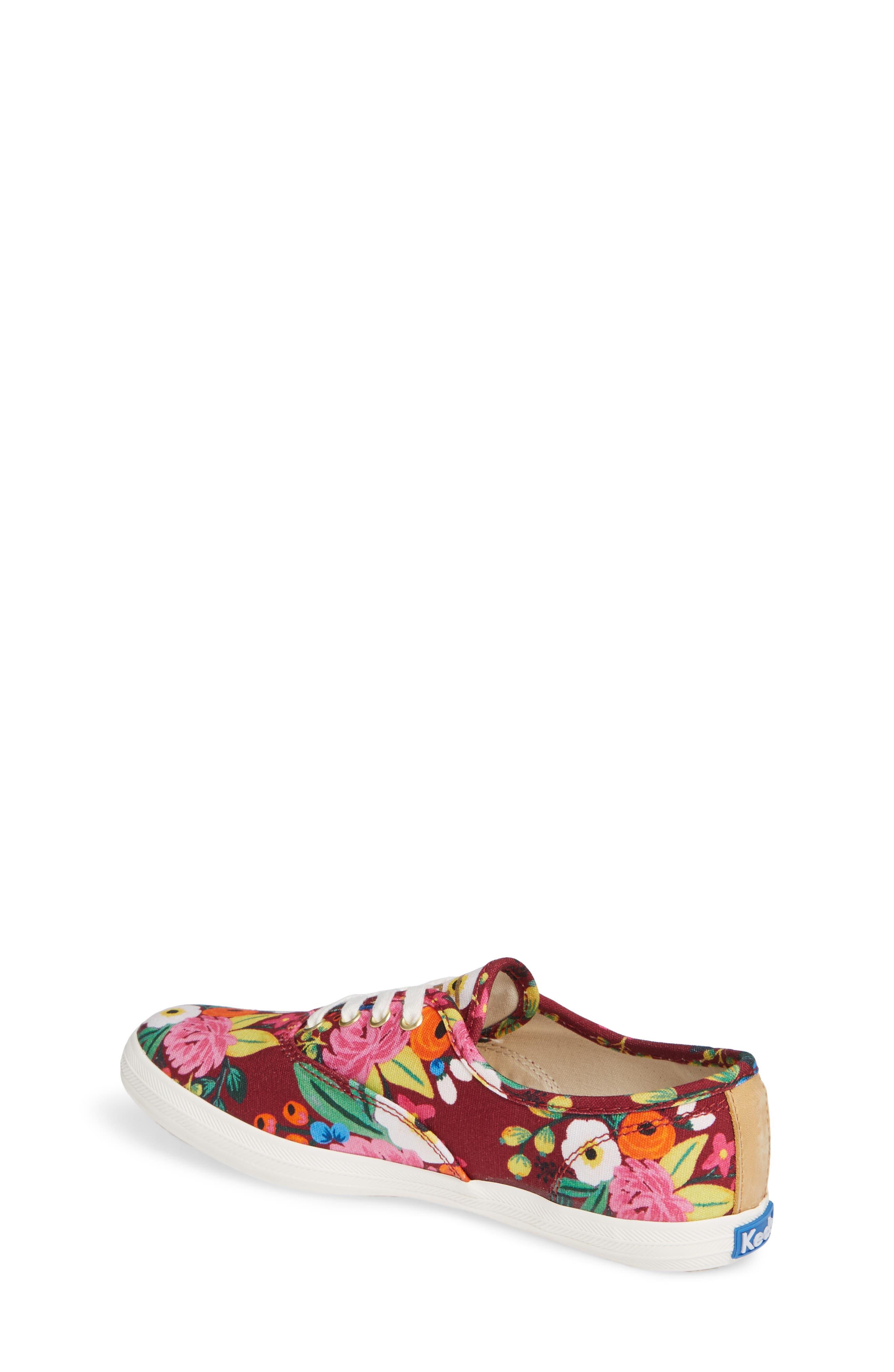 x Rifle Paper Co. Floral Print Champion Sneaker,                             Alternate thumbnail 2, color,                             VINTAGE BLOSSOM