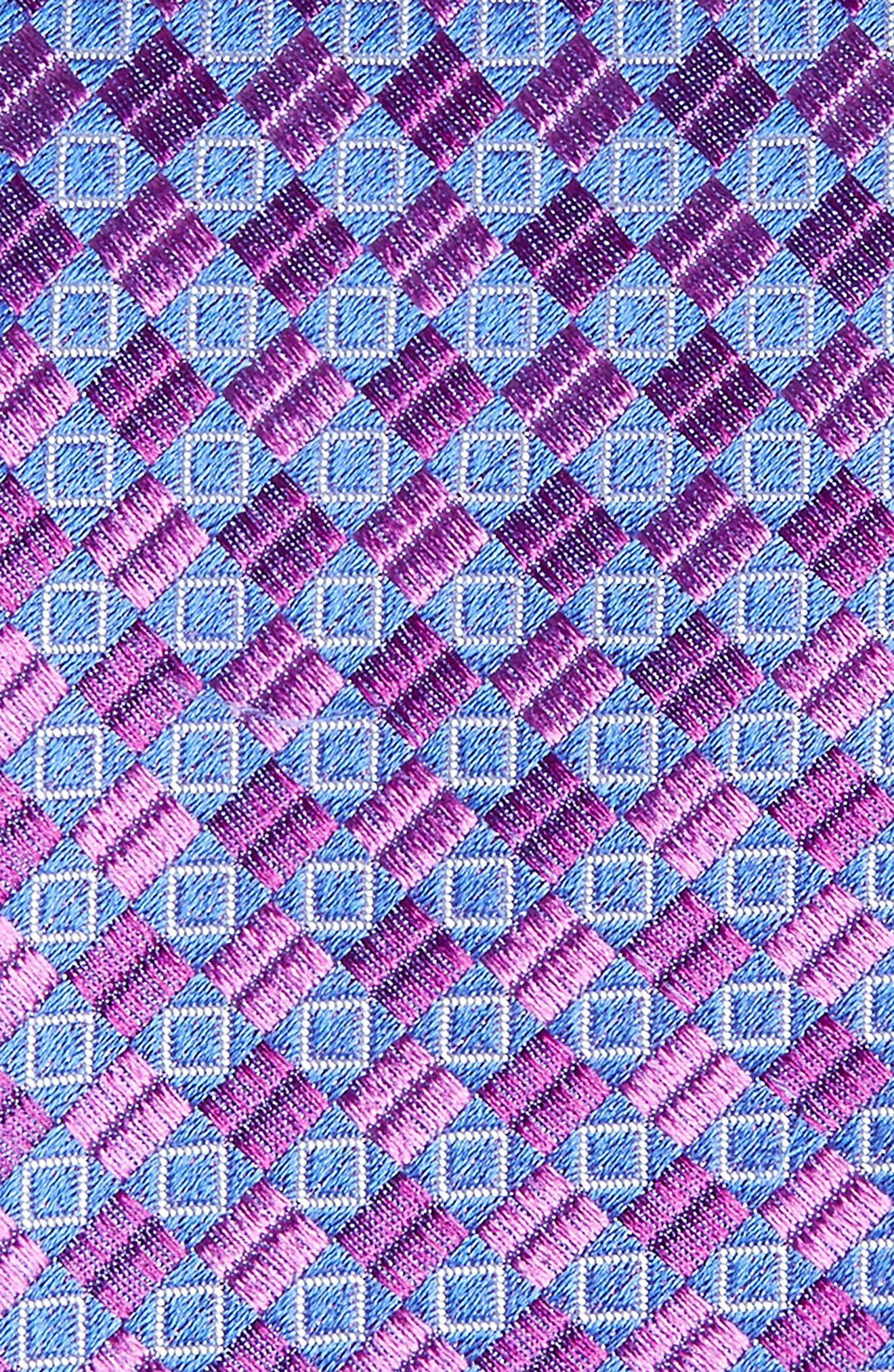 Middletown Geometric Silk Tie,                             Alternate thumbnail 8, color,