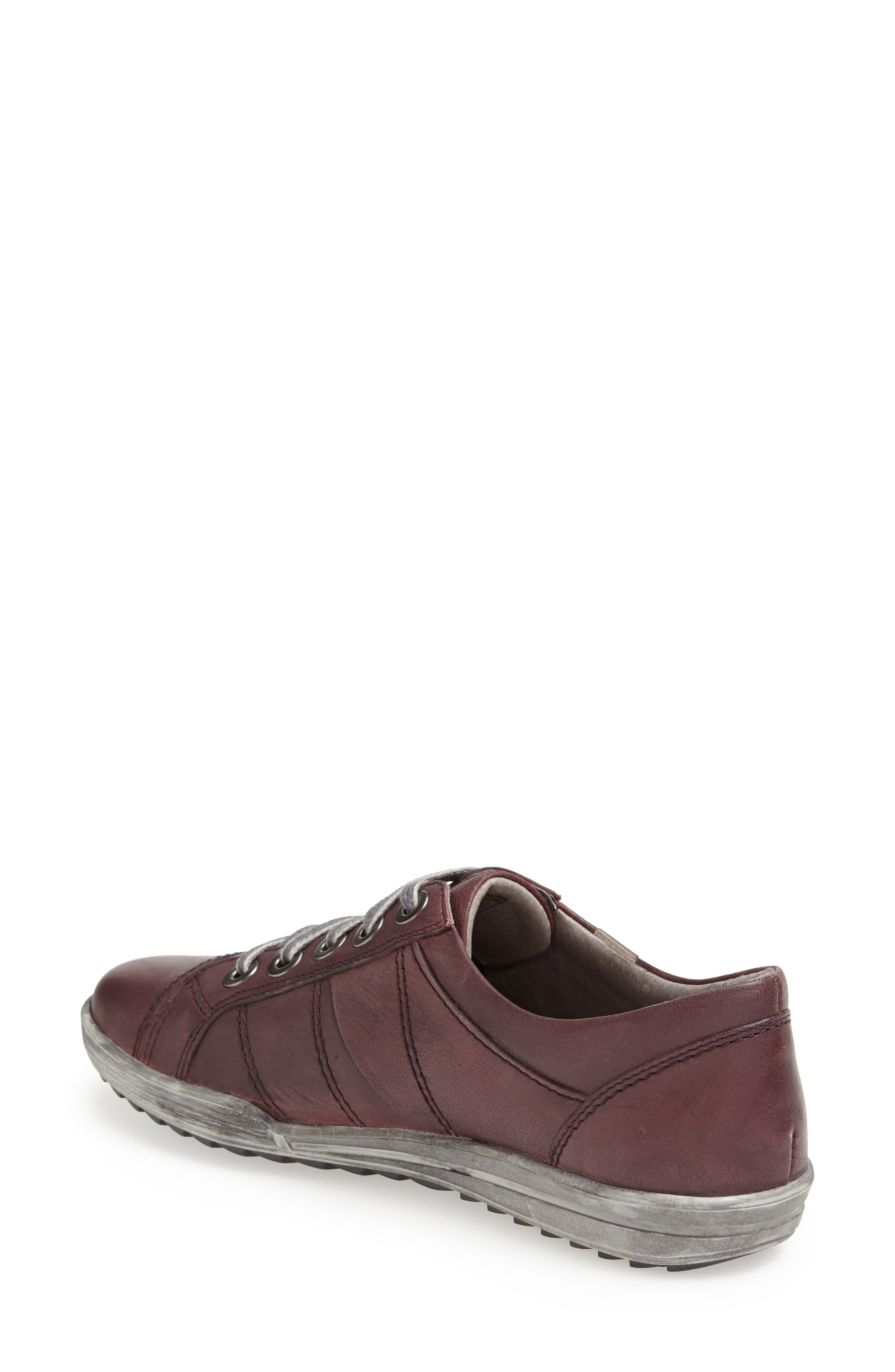 'Dany 05' Leather Sneaker,                             Alternate thumbnail 26, color,
