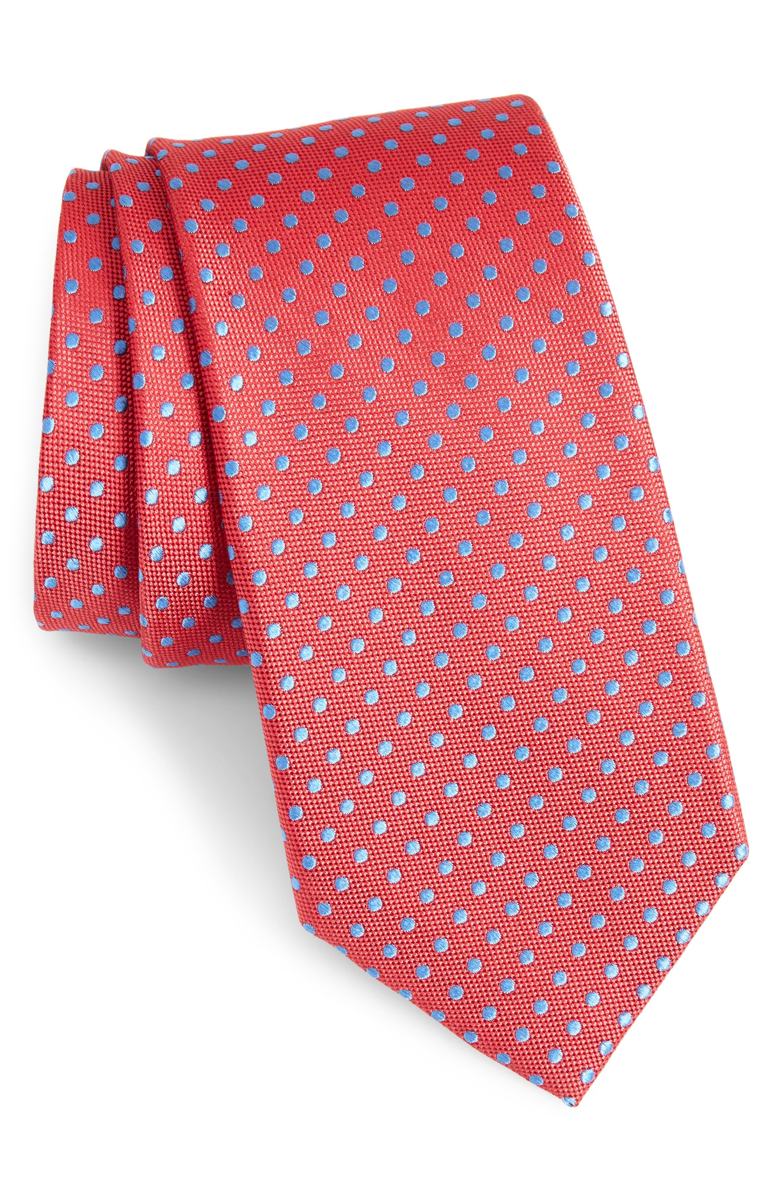 Norton Dot Silk Tie,                             Main thumbnail 5, color,