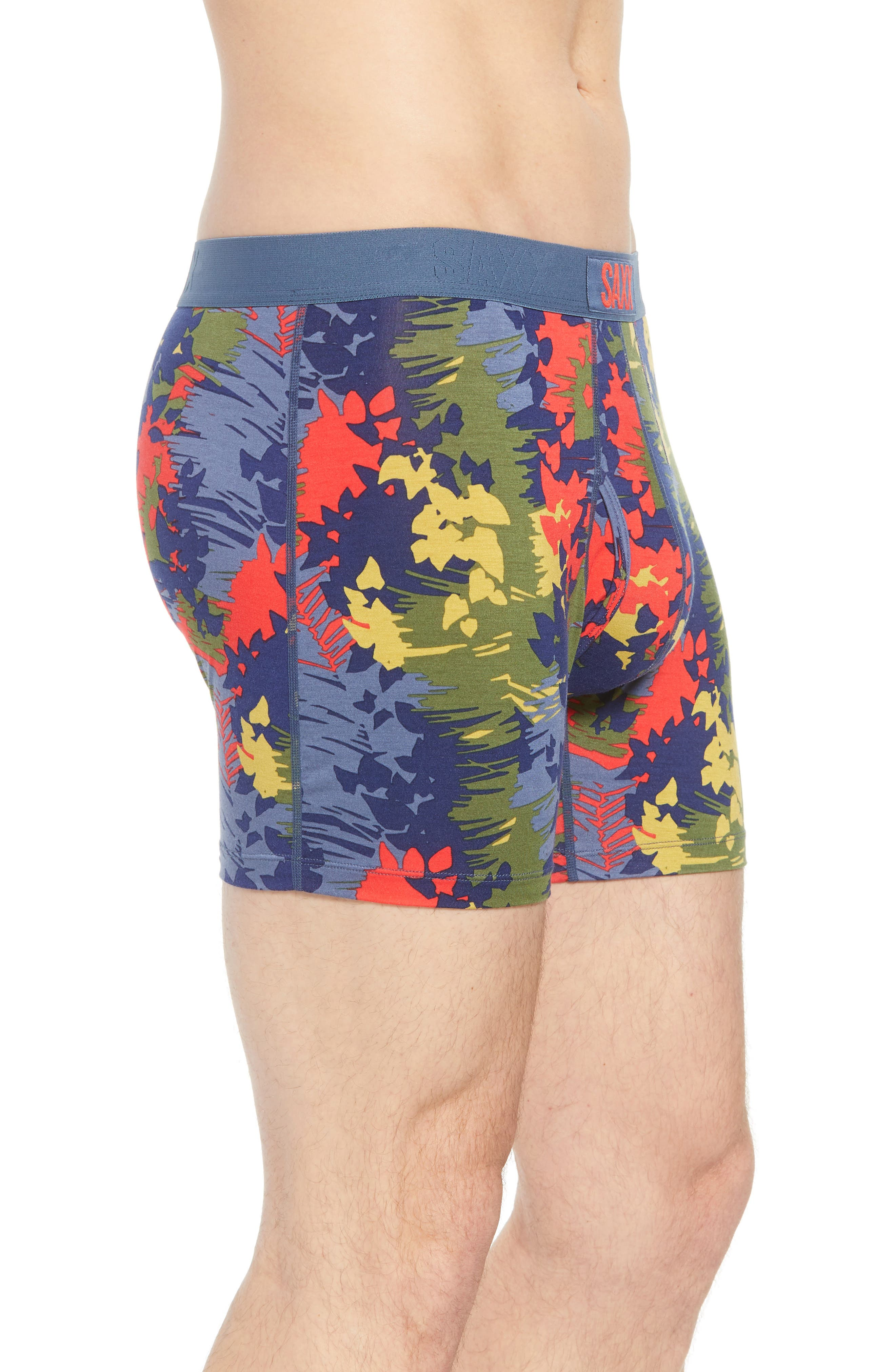 Vibe Modern Fit Boxer Brief,                             Alternate thumbnail 3, color,                             CANOPY CAMO