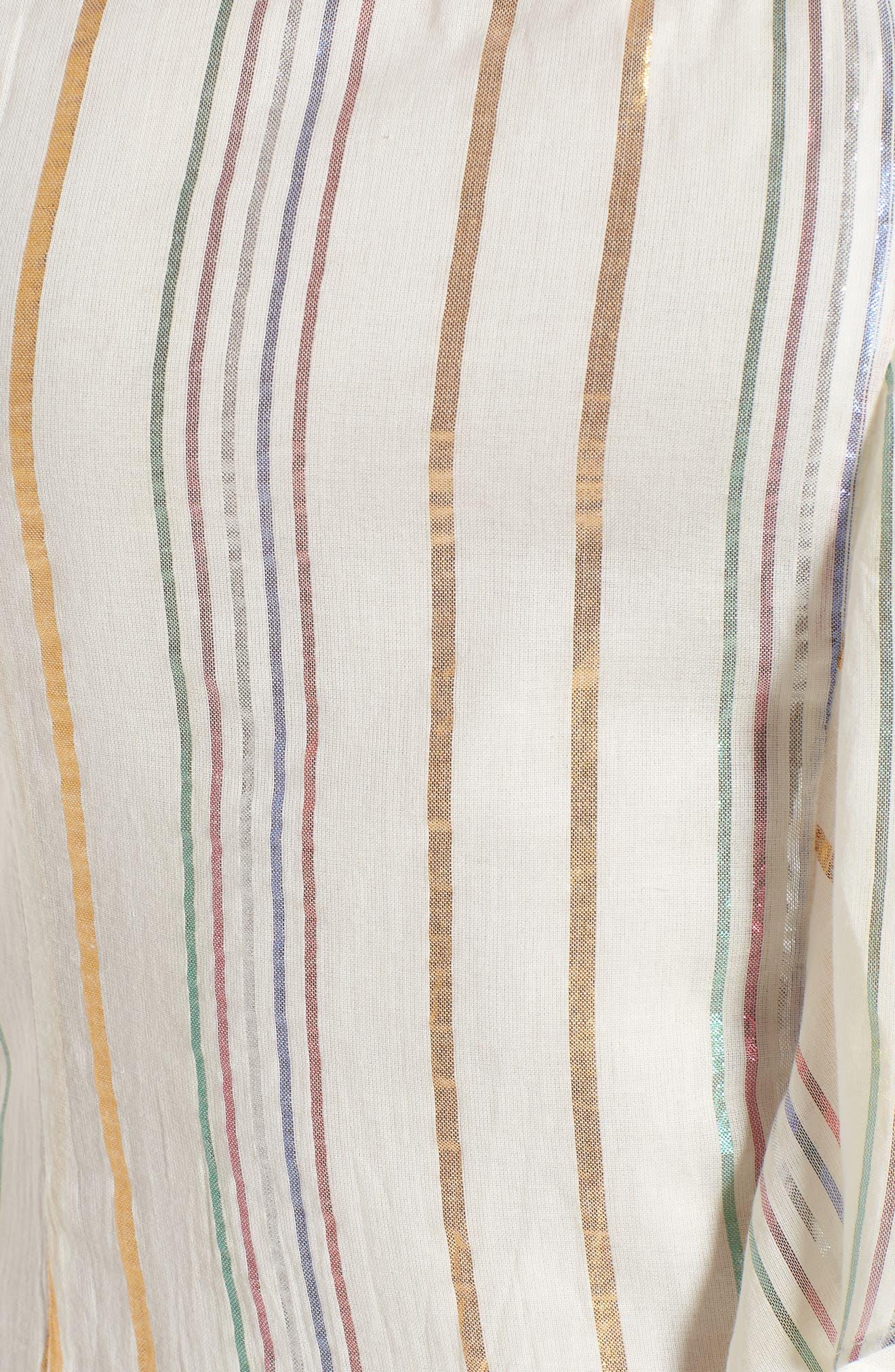 Cait One-Shoulder Sheath Dress,                             Alternate thumbnail 5, color,                             111
