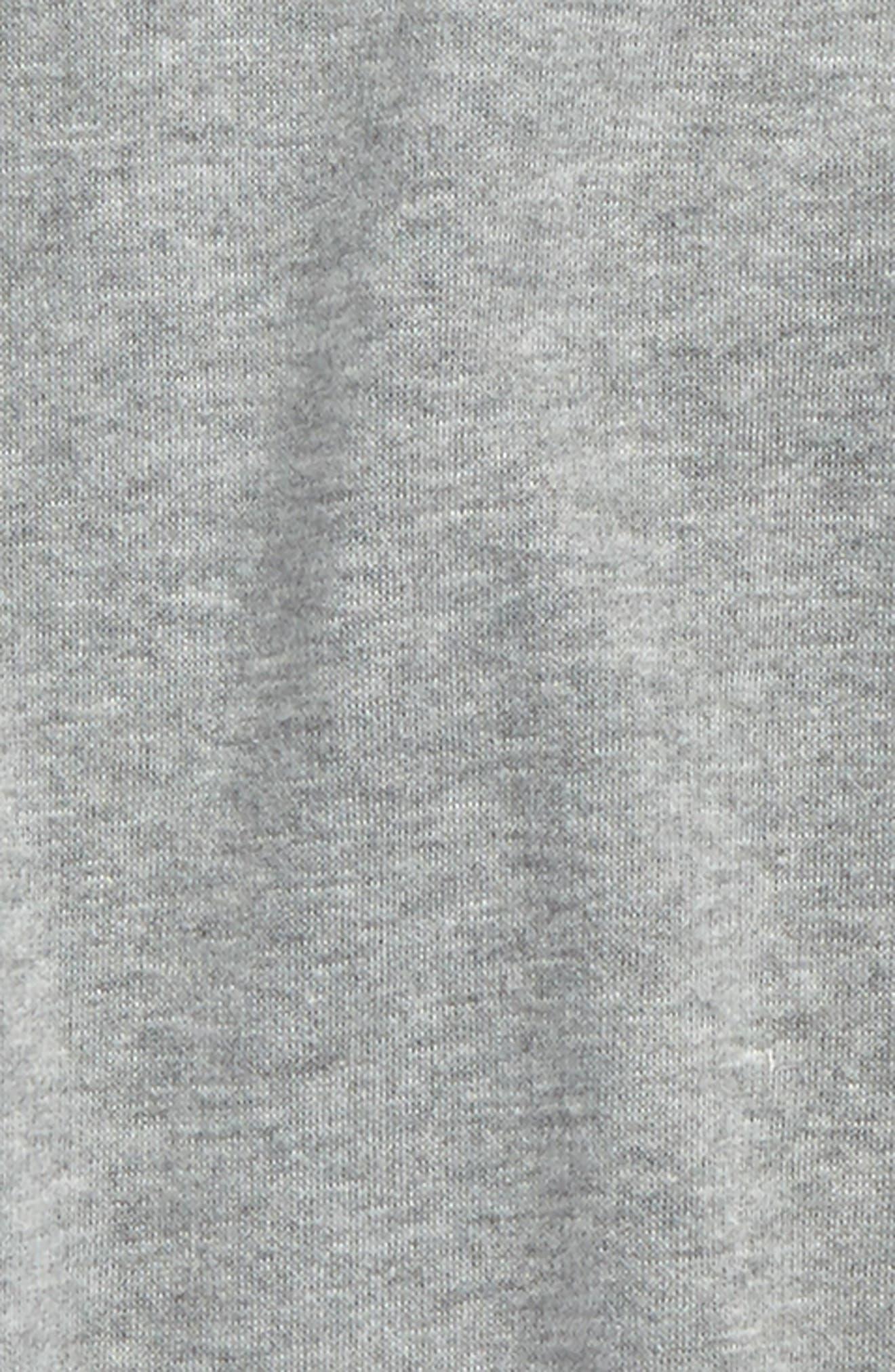 Ruffle Fleece Sweatshirt,                             Alternate thumbnail 2, color,                             030