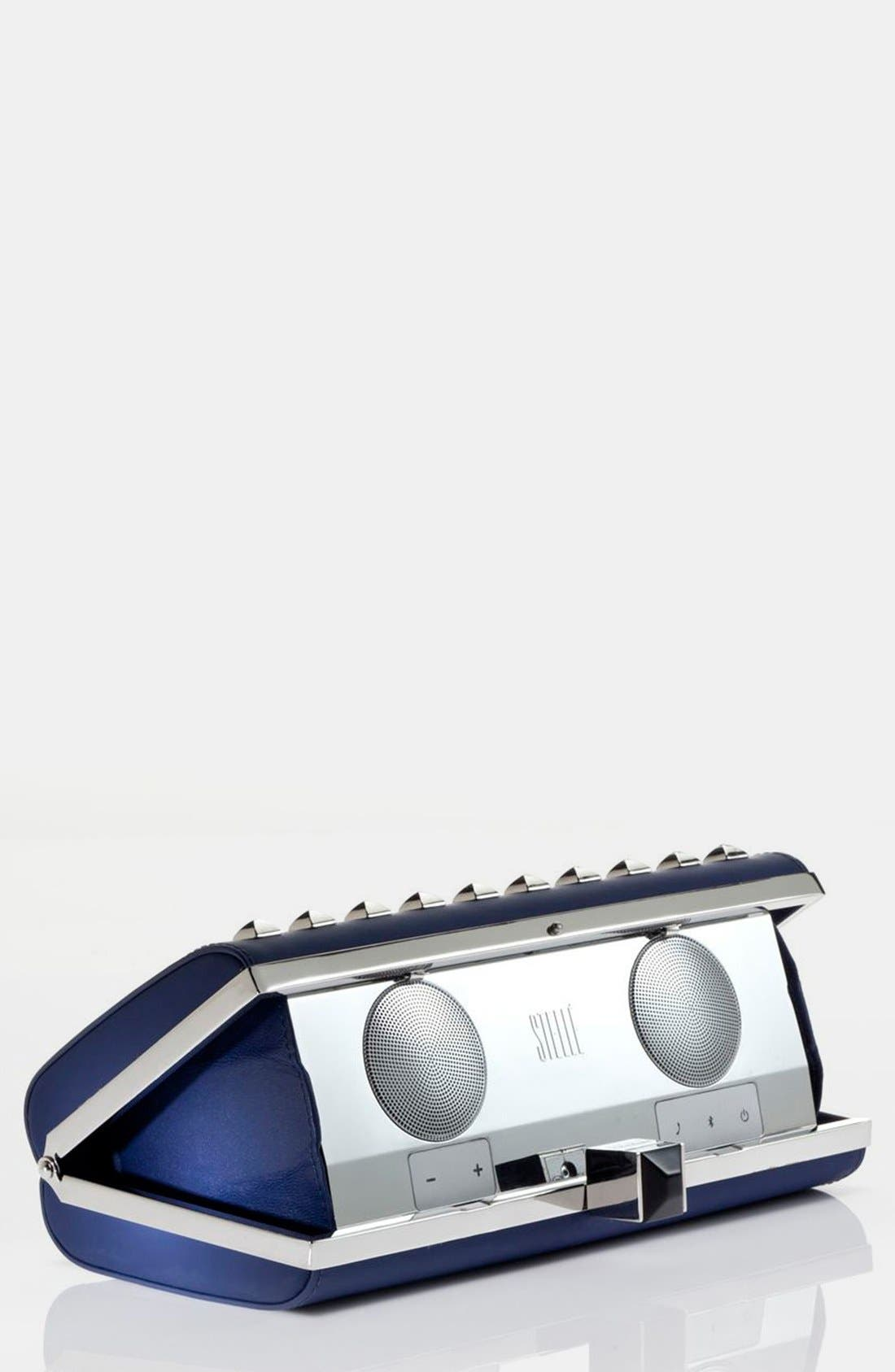 Rebecca Minkoff for Stellé Audio 'Studded Speaker' Clutch,                             Main thumbnail 1, color,                             401