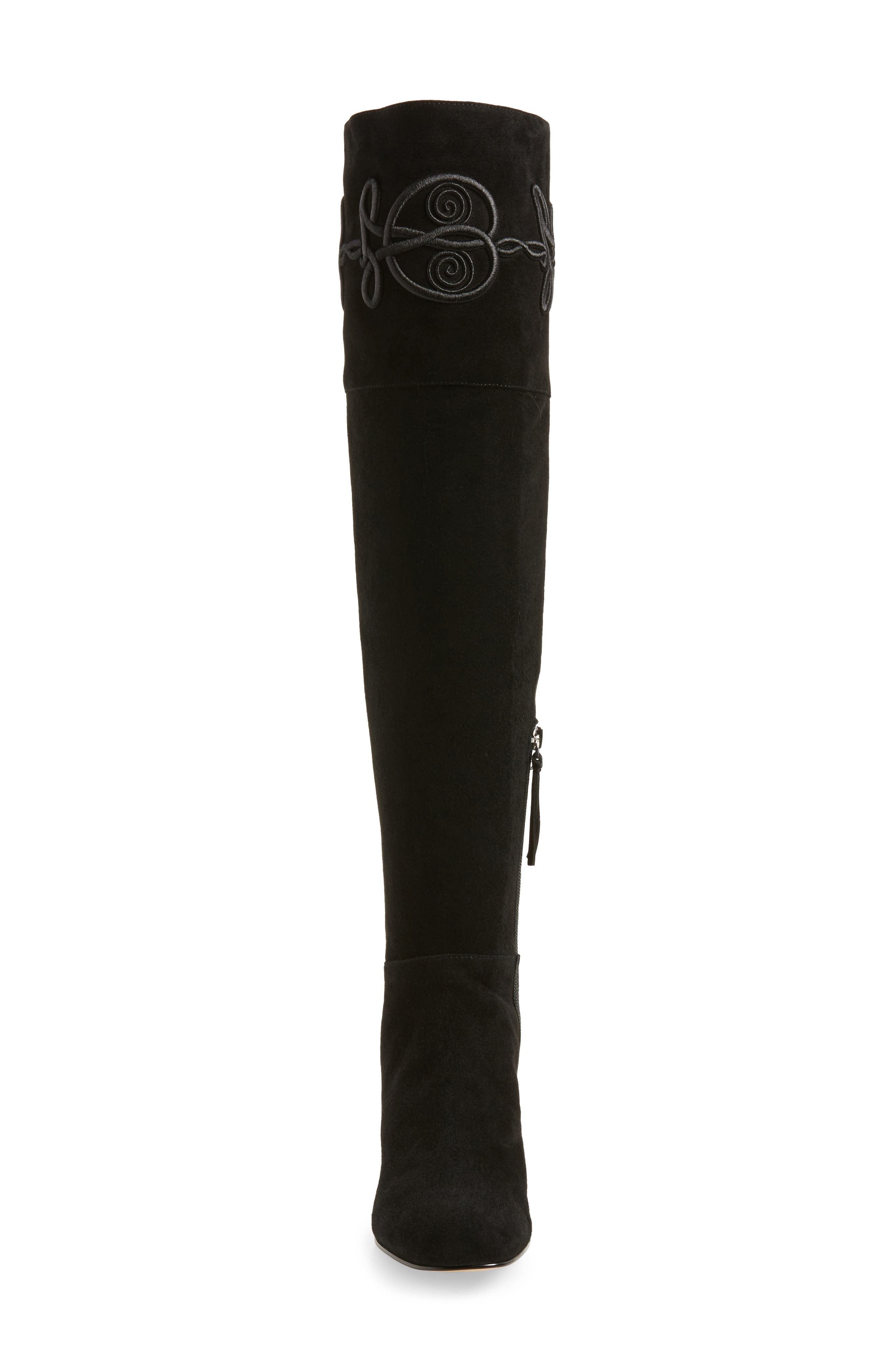 Shiloh Over the Knee Boot,                             Alternate thumbnail 4, color,                             004