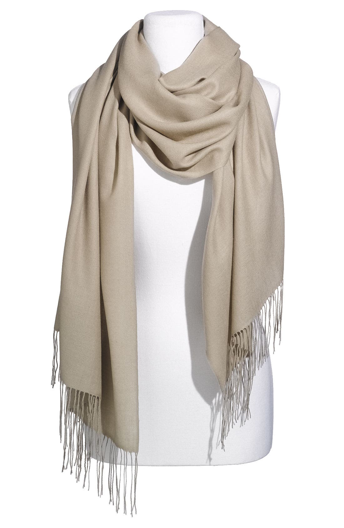 Tissue Weight Wool & Cashmere Wrap,                             Main thumbnail 27, color,