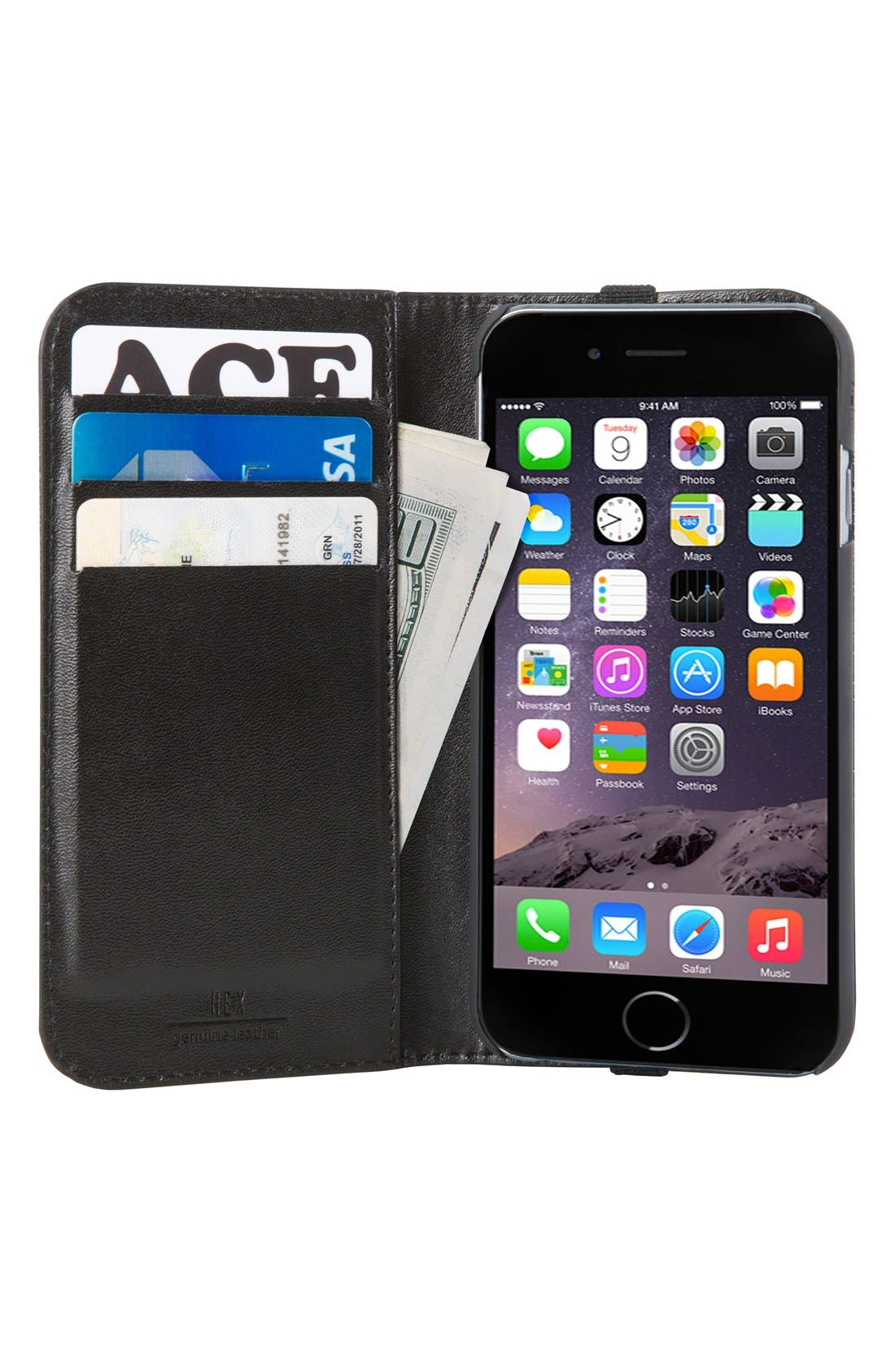 Icon iPhone 6/6s Wallet Case,                             Alternate thumbnail 3, color,                             246