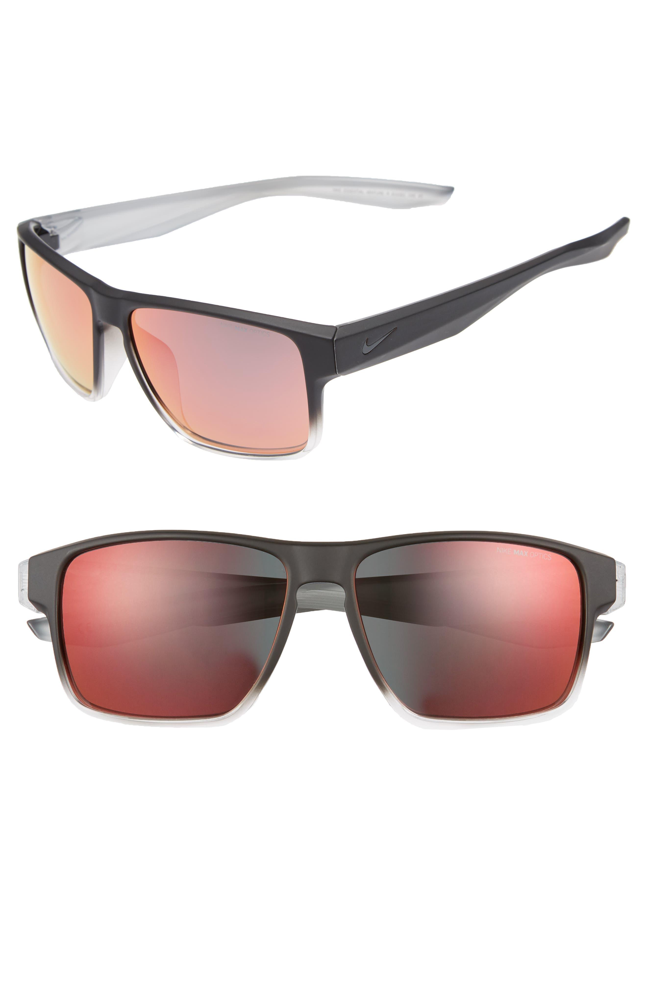 Nike Essential Venture R 5m Sunglasses - Matte Black/ Amaranthine