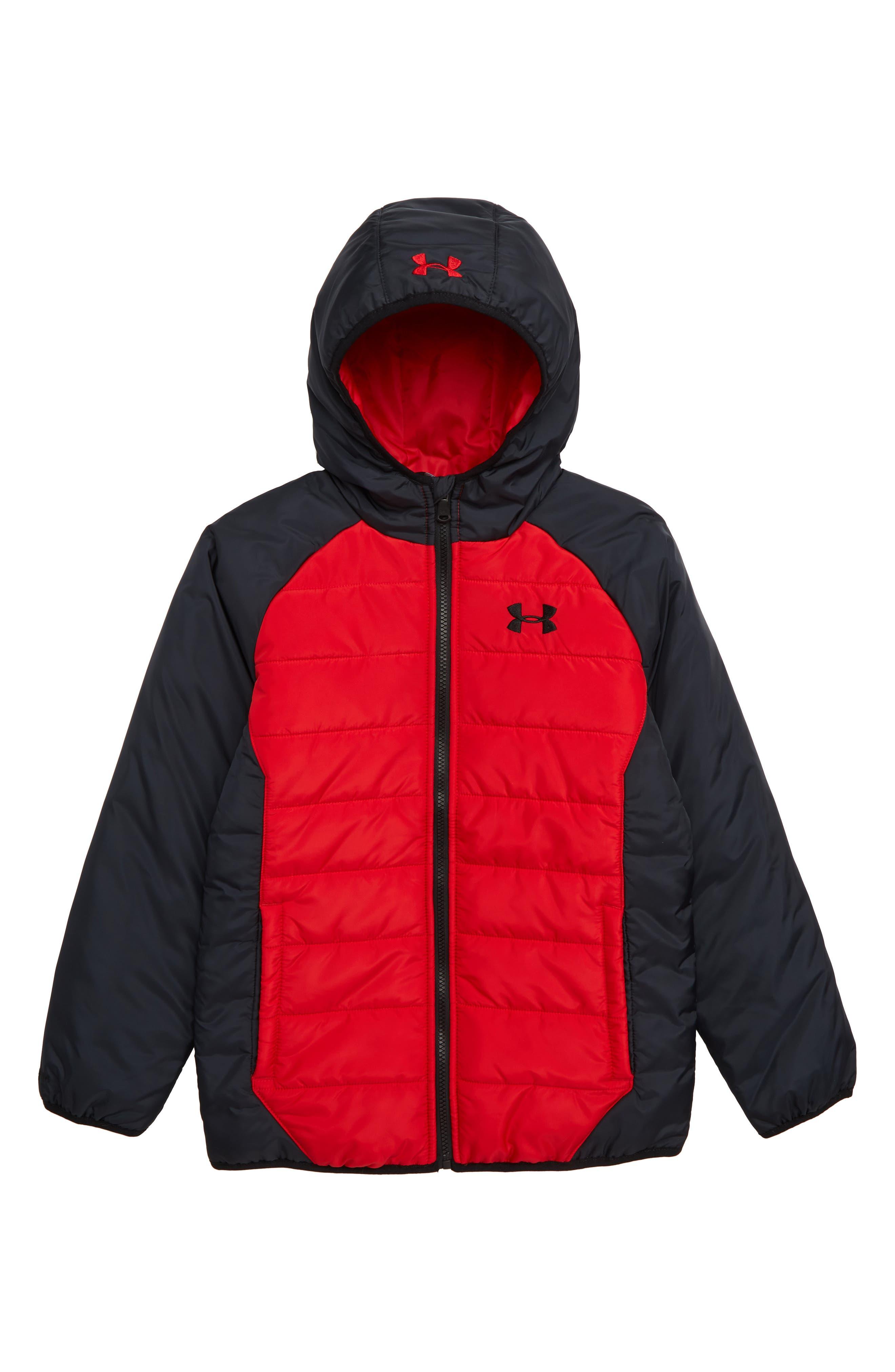 Boys Under Armour Tuckerman Water Repellent Coldgear Jacket