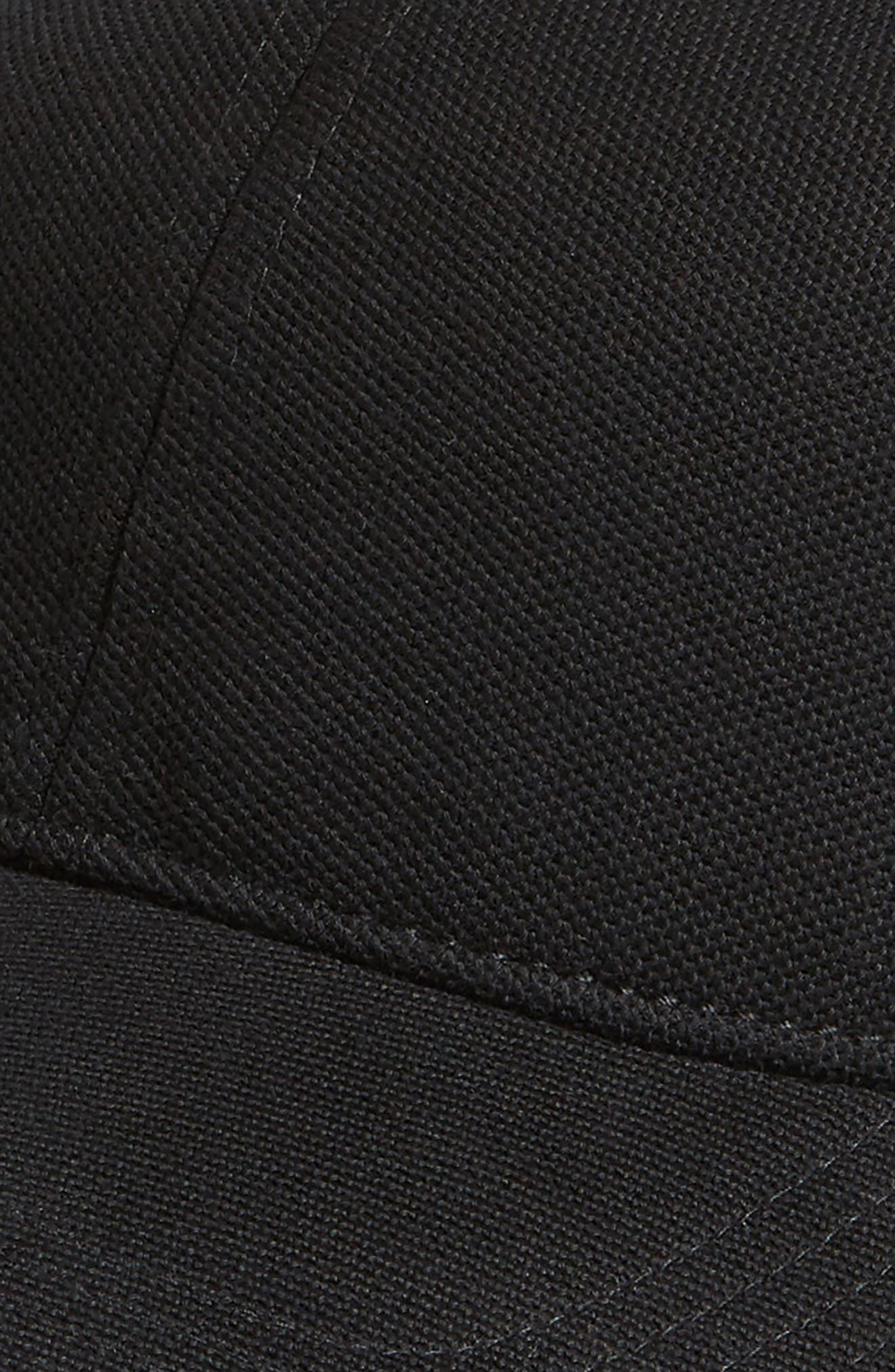 Croc Cotton Baseball Cap,                             Alternate thumbnail 3, color,                             001