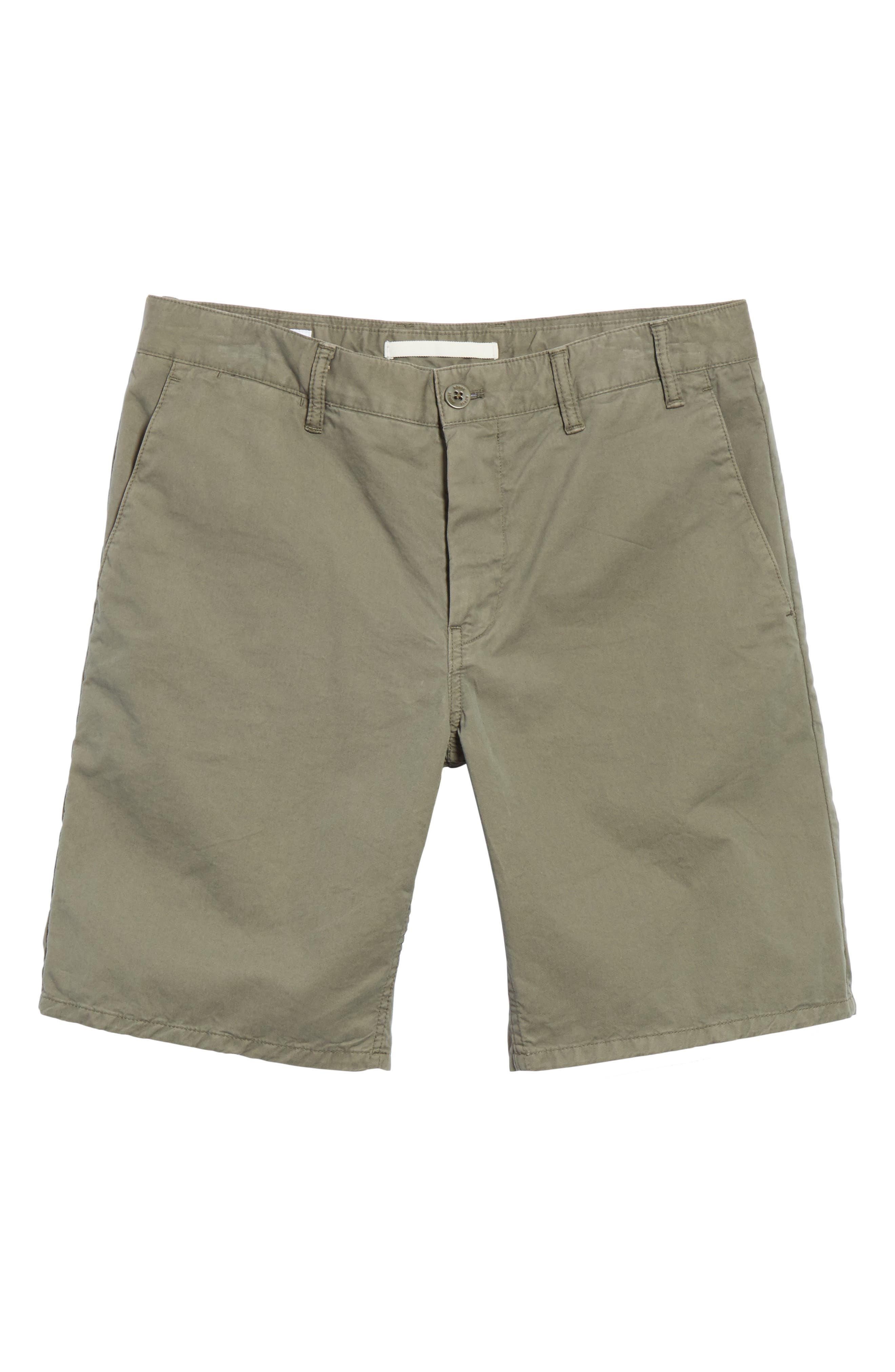 NORSE PROJECTS,                             Aros Twill Shorts,                             Alternate thumbnail 6, color,                             301