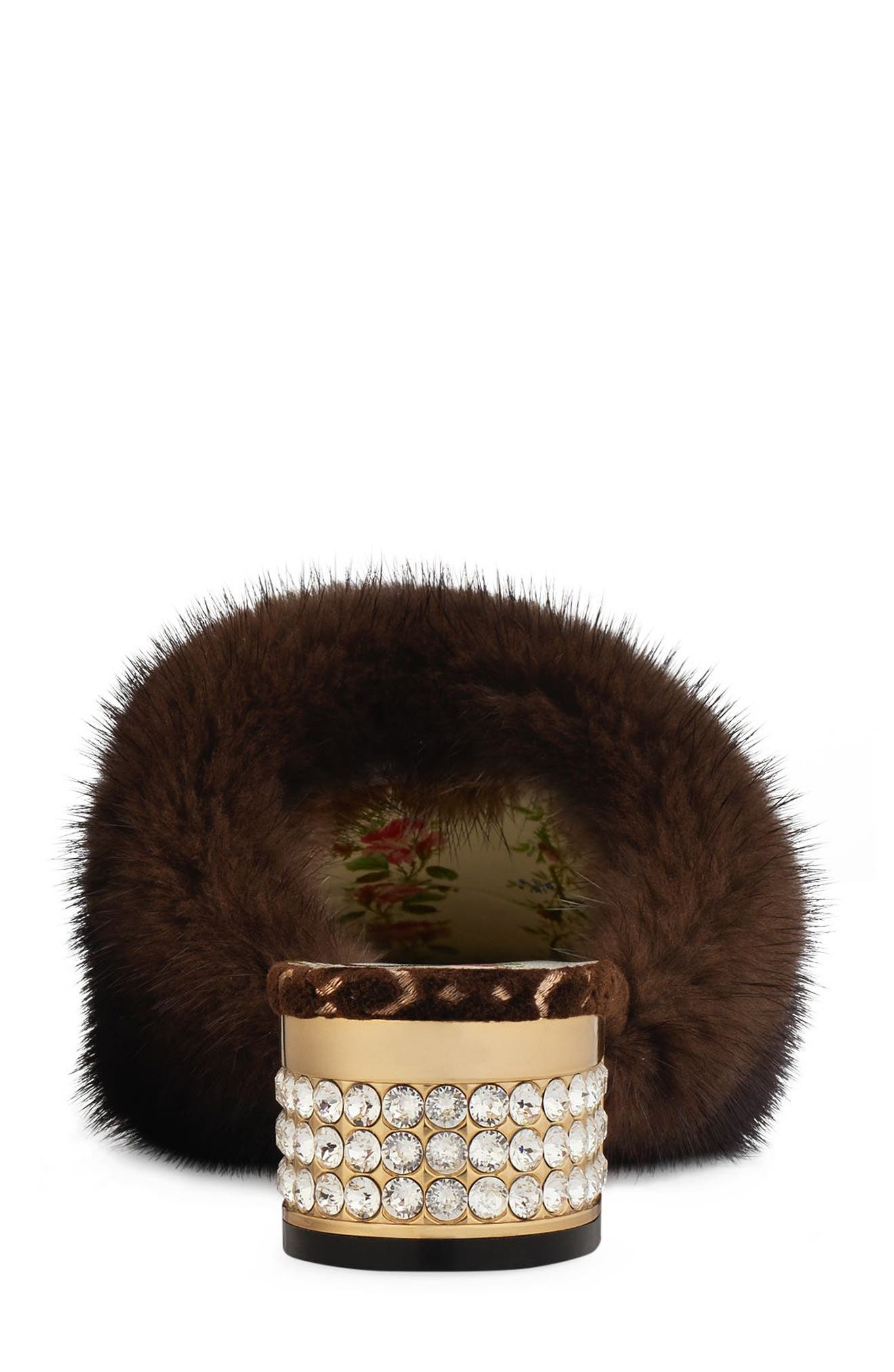 Candy Genuine Mink Fur Mule,                             Alternate thumbnail 2, color,                             202