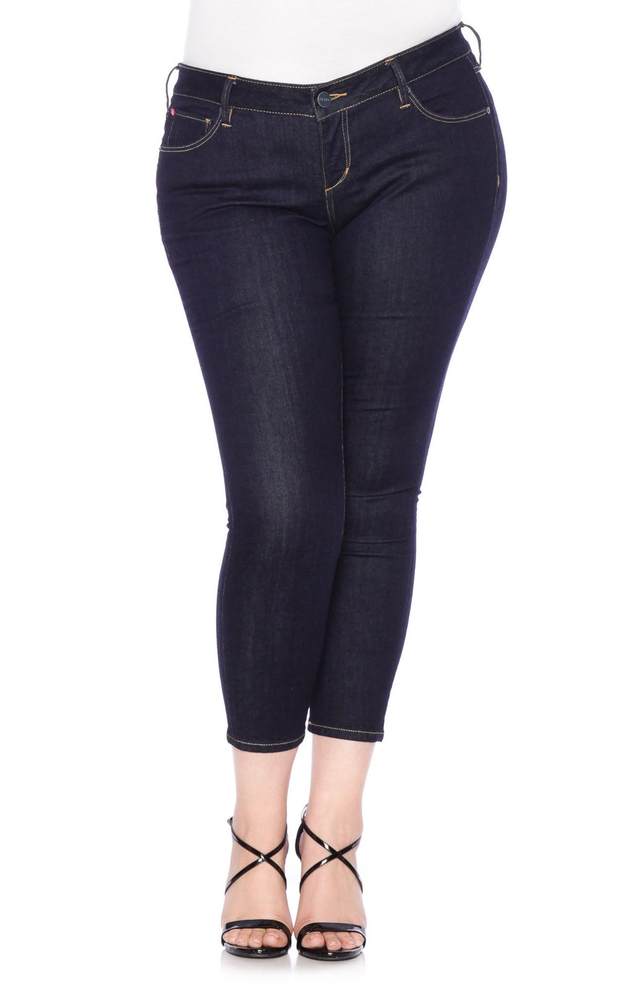 Ankle Skinny Jeans,                         Main,                         color, 405