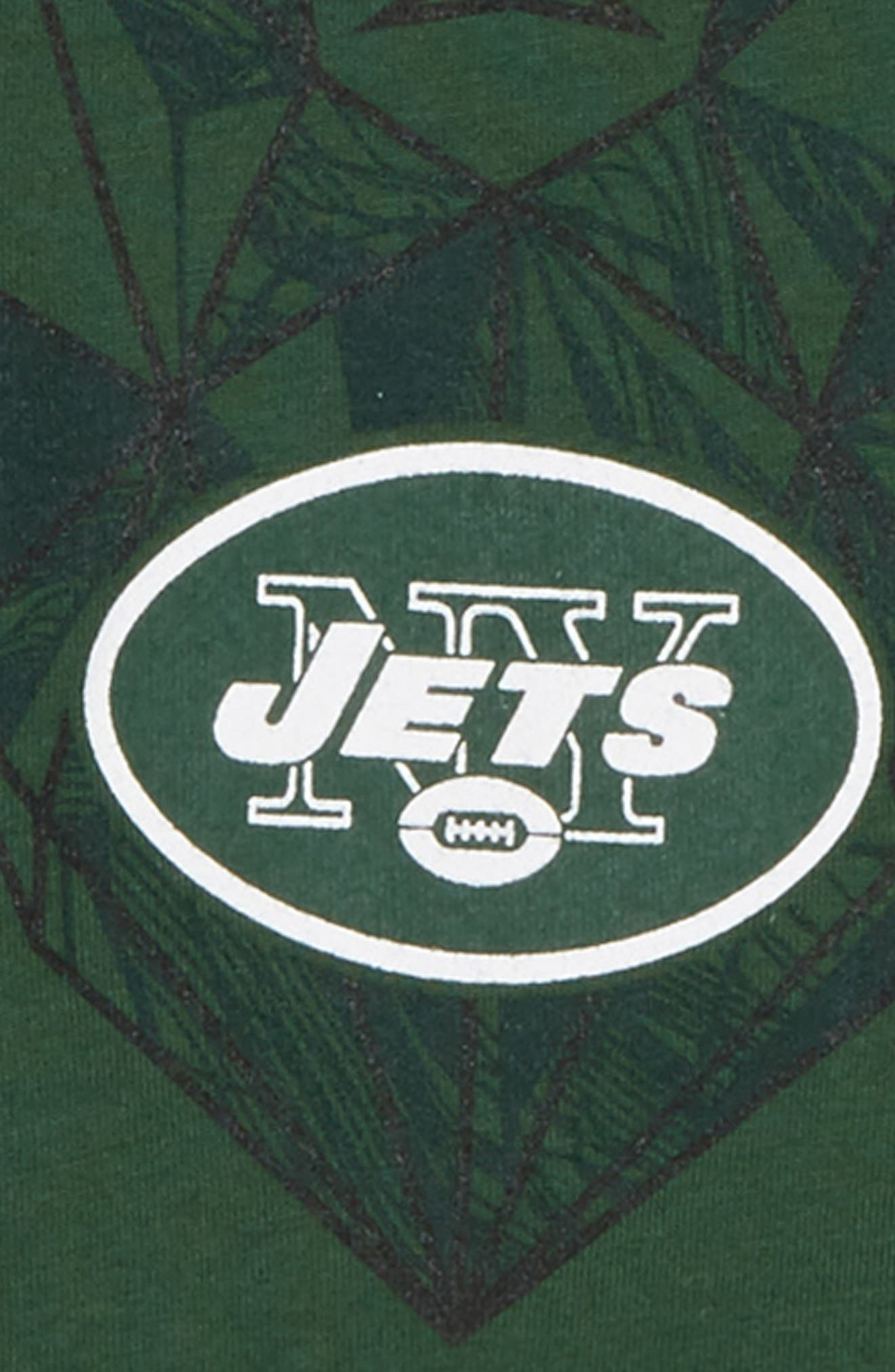 NFL Logo New York Jets Graphic T-Shirt,                             Alternate thumbnail 2, color,                             GREEN