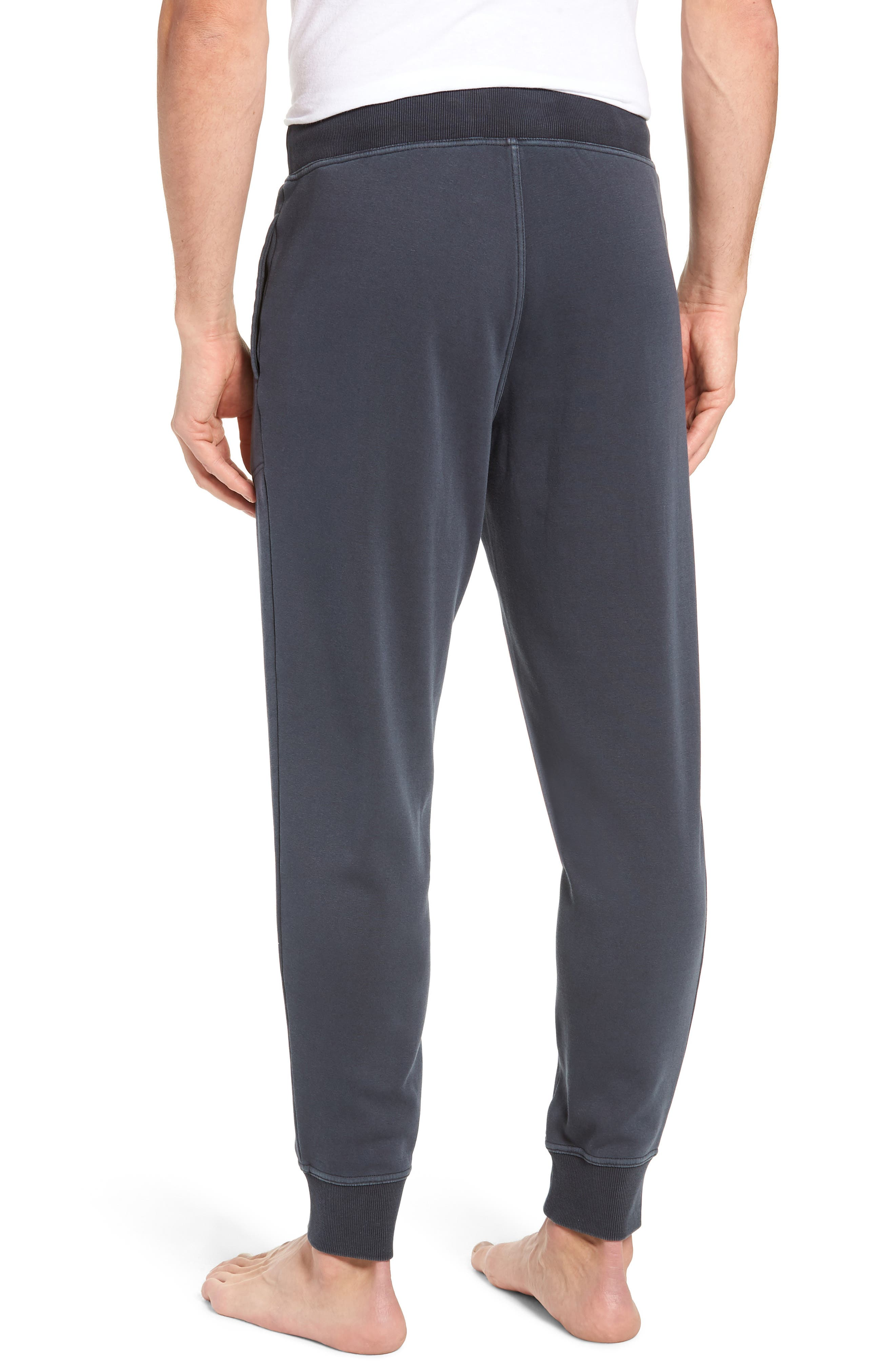 Jakob Washed Jogger Pants,                             Alternate thumbnail 2, color,                             CHARCOAL
