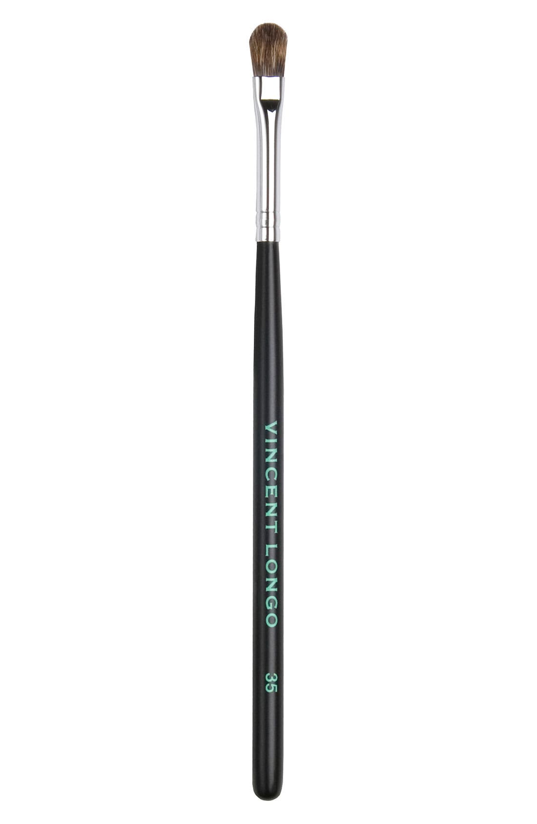 'Deluxe' Lip Brush #35,                             Main thumbnail 1, color,                             000