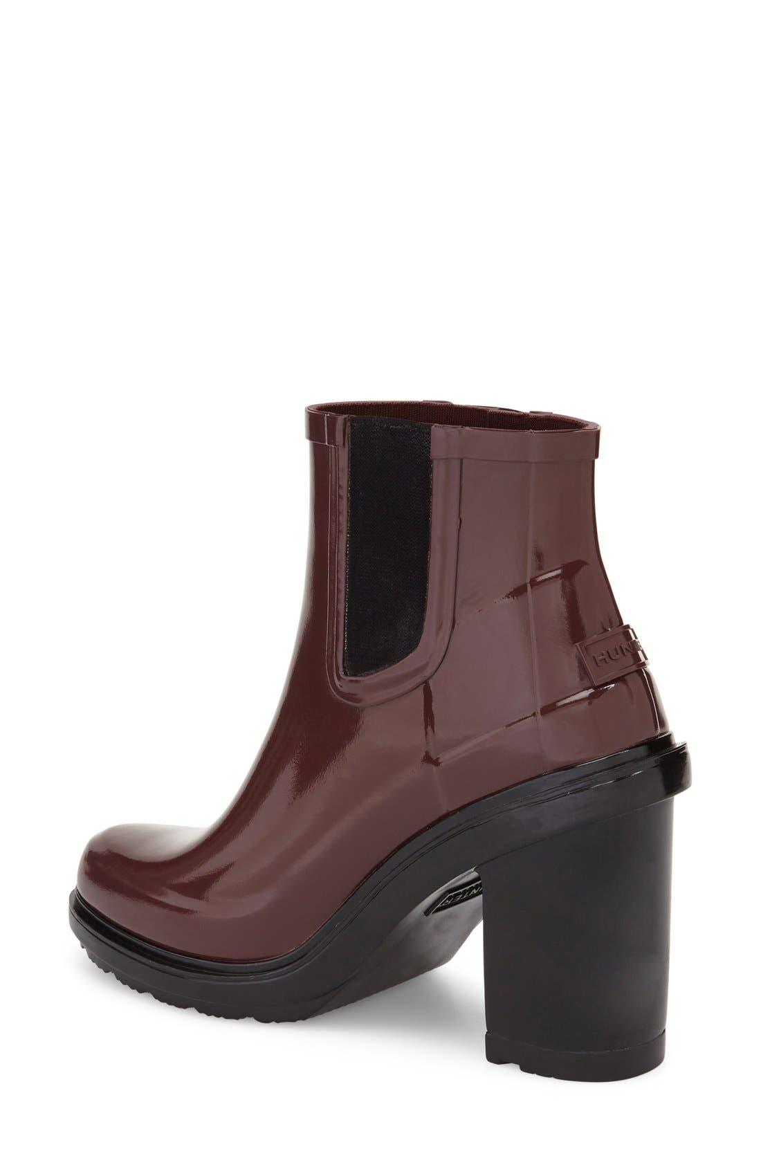 'Original Refined' Chelsea Rain Boot,                             Alternate thumbnail 8, color,