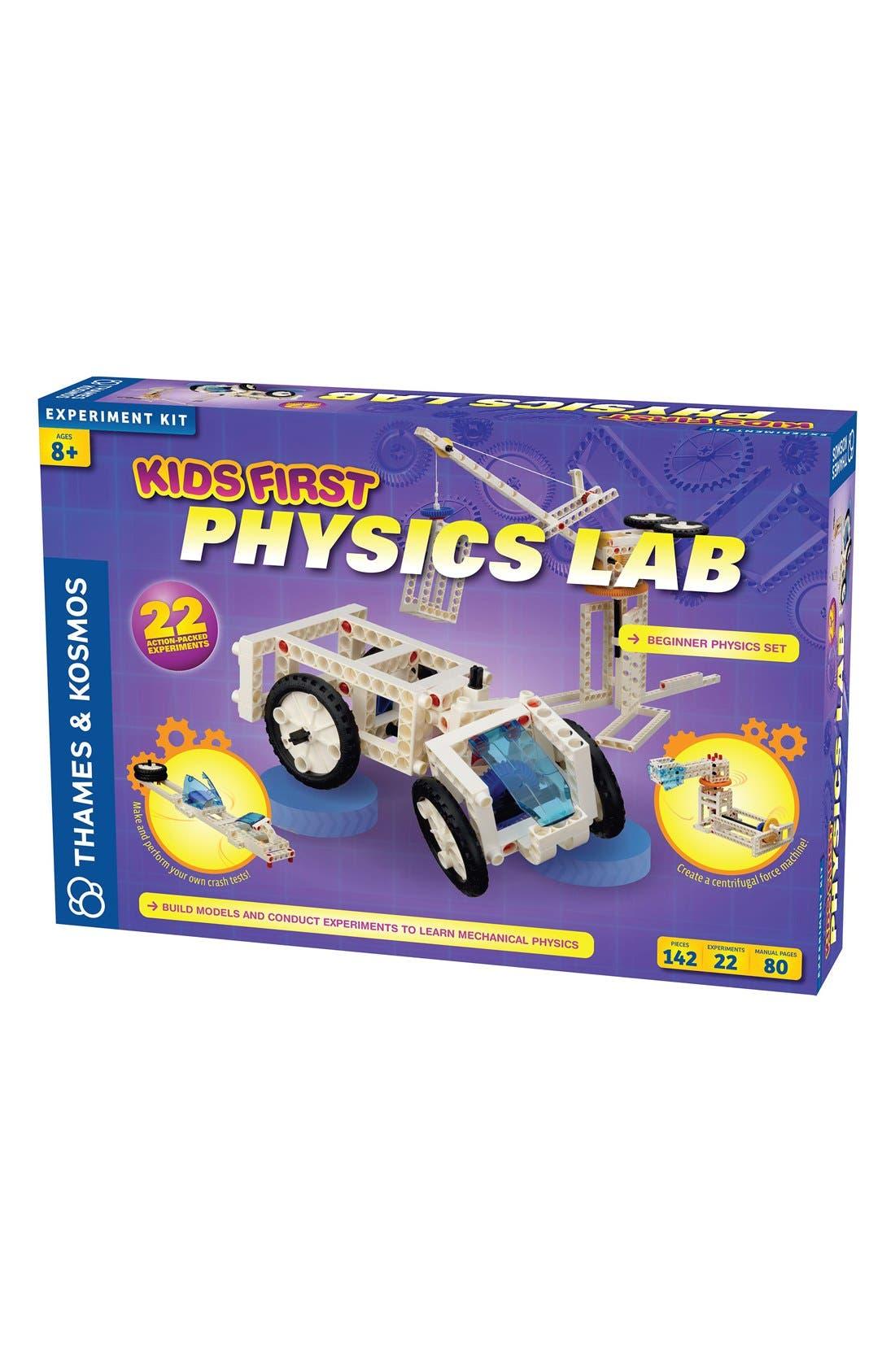 'Kids First - Physics Lab' Experiment Kit,                             Main thumbnail 1, color,                             PURPLE