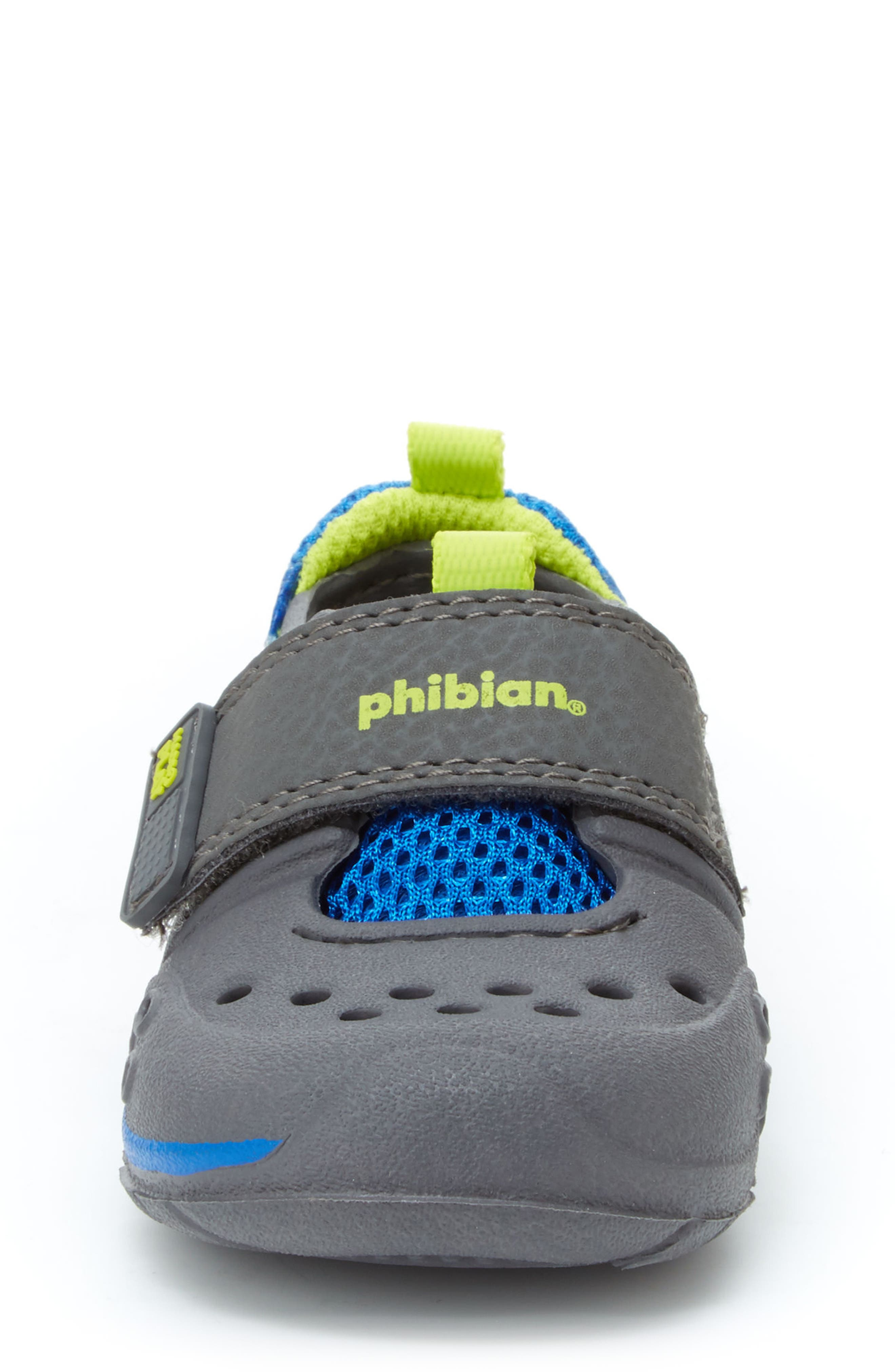 Made2Play<sup>®</sup> Phibian Sneaker,                             Alternate thumbnail 4, color,                             GREY/ GREY