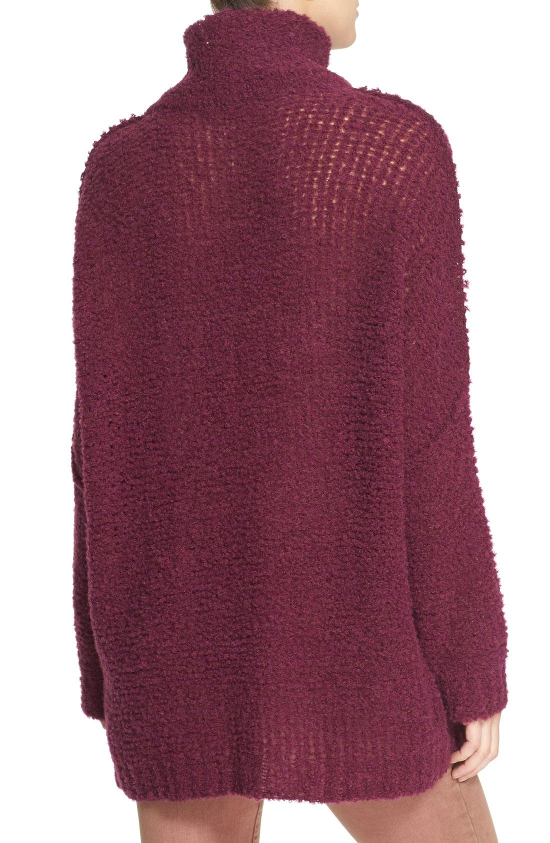 'She's All That' Knit Turtleneck Sweater,                             Alternate thumbnail 14, color,