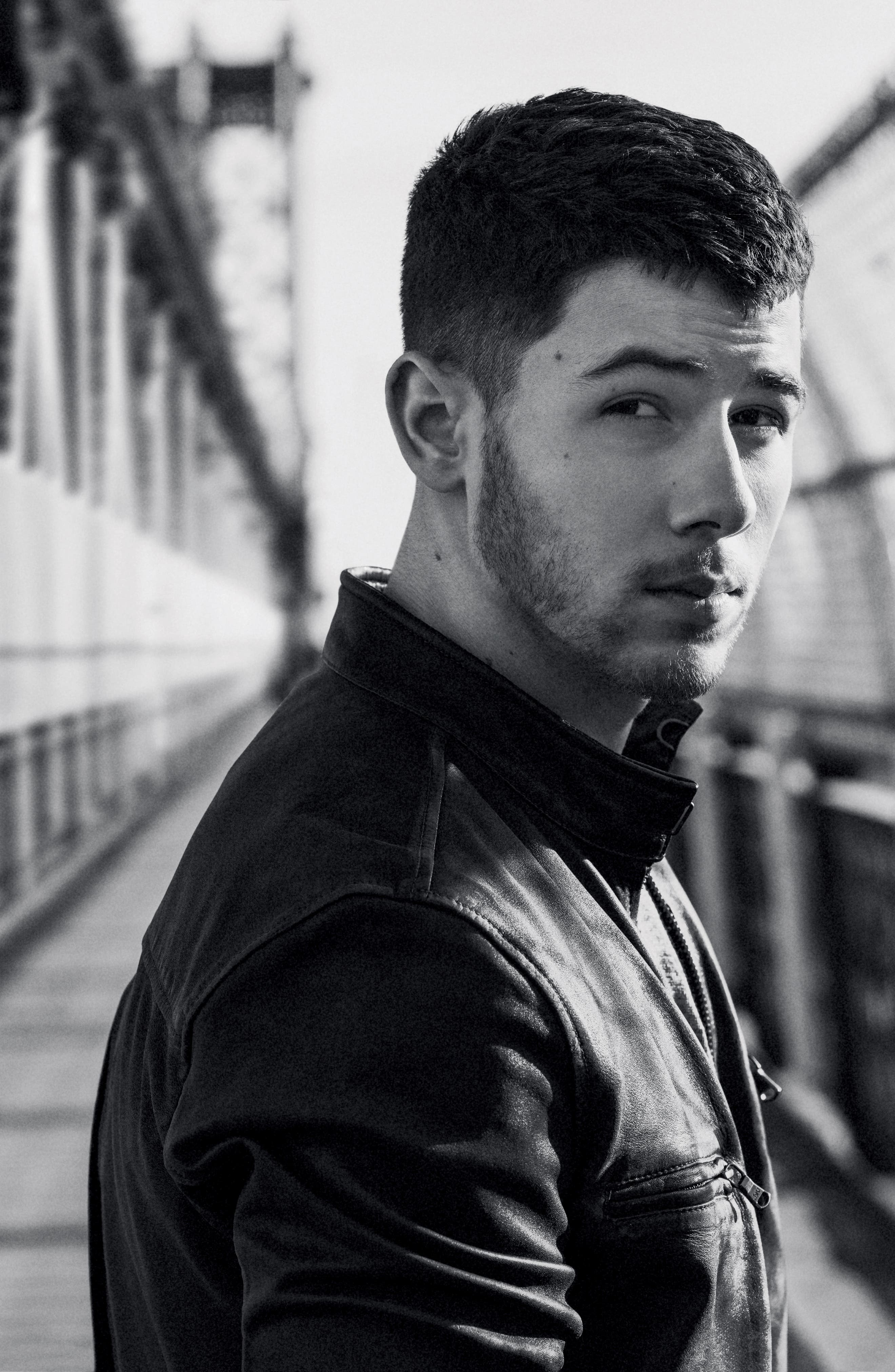 John Varvatos x Nick Jonas Modern Moto Jacket,                             Alternate thumbnail 10, color,                             020