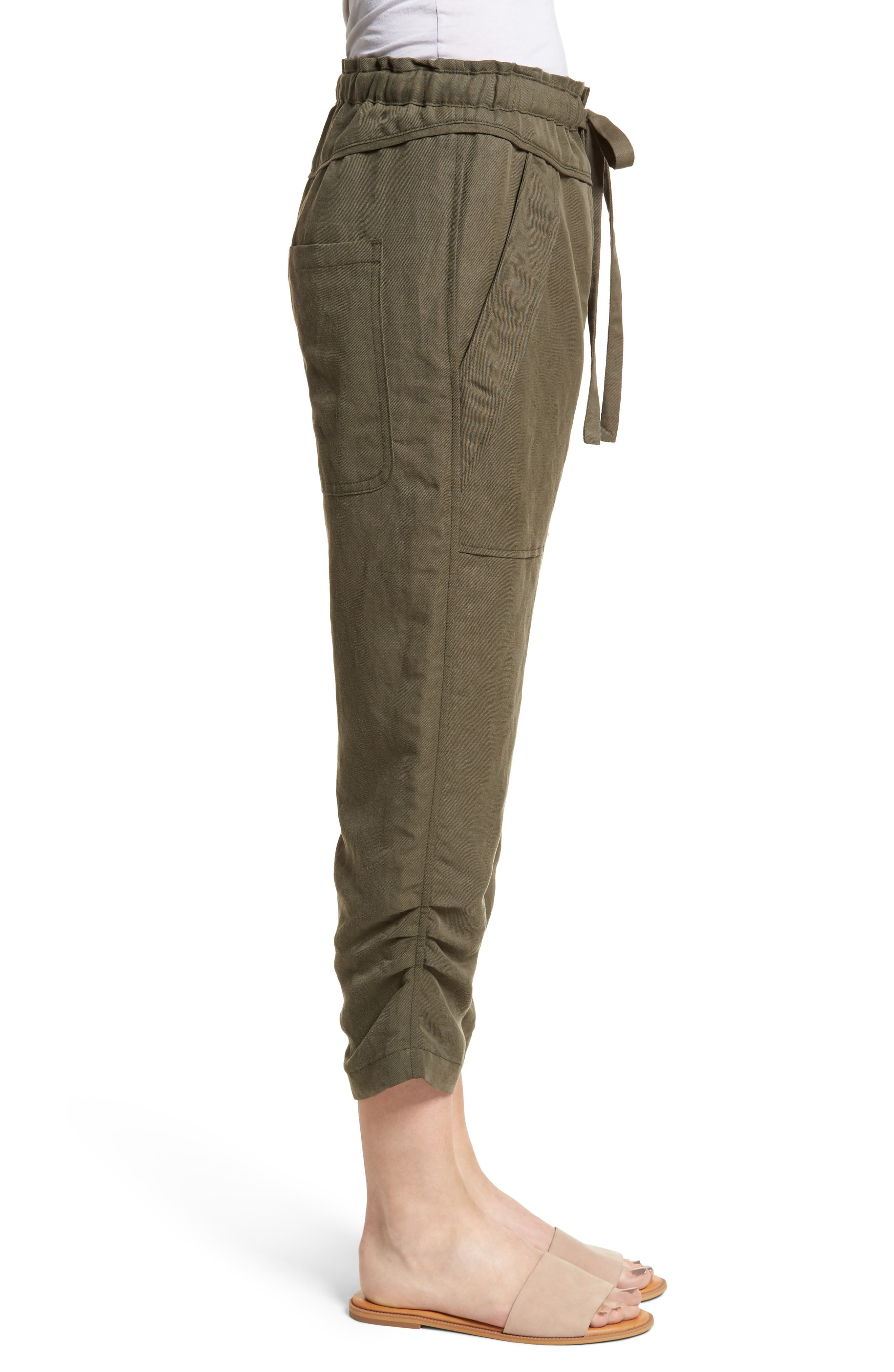 Stellina High Waist Pants,                             Alternate thumbnail 3, color,