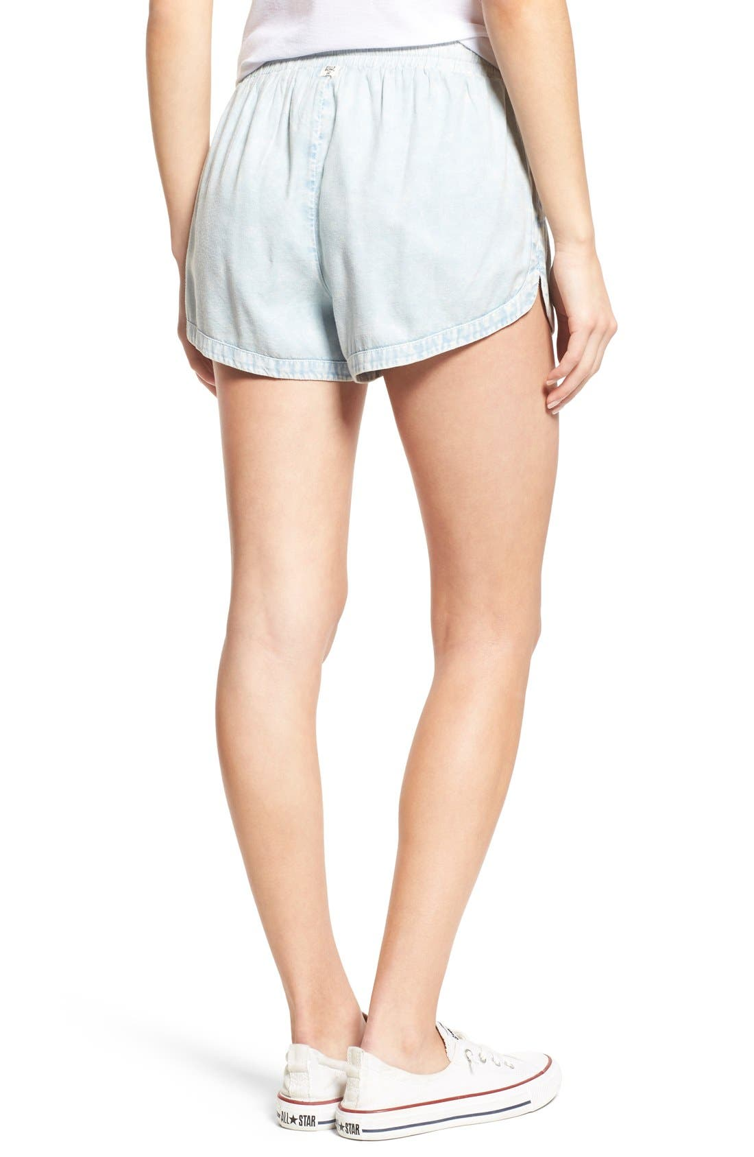 'Road Trippin' Shorts,                             Alternate thumbnail 4, color,                             CHAMBRAY BLUE